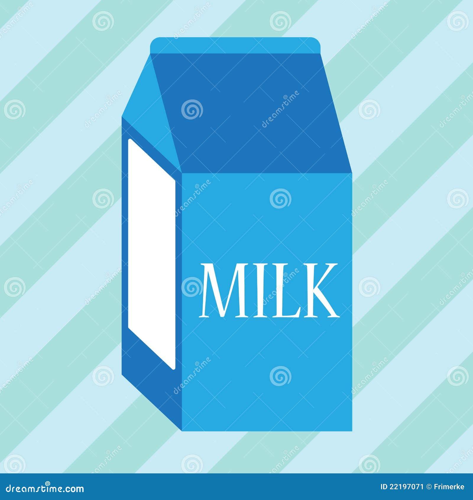 μπλε γάλα χαρτοκιβωτίων
