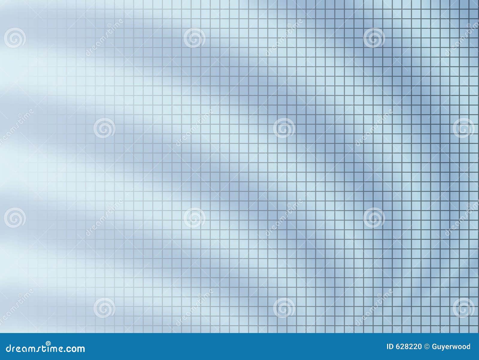 μπλε δίκτυο θαμπάδων ανασκόπησης