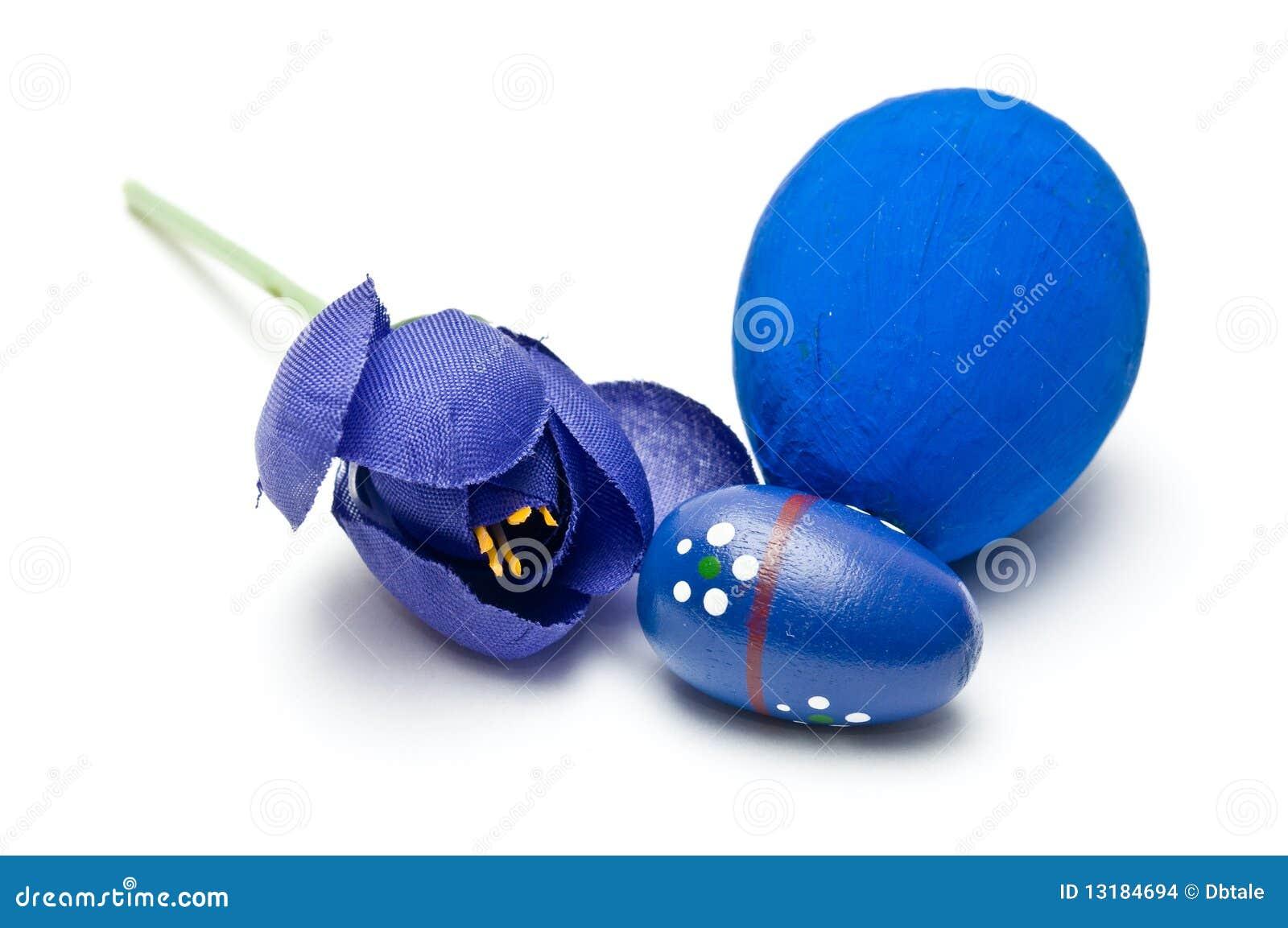 μπλε διακόσμηση Πάσχα