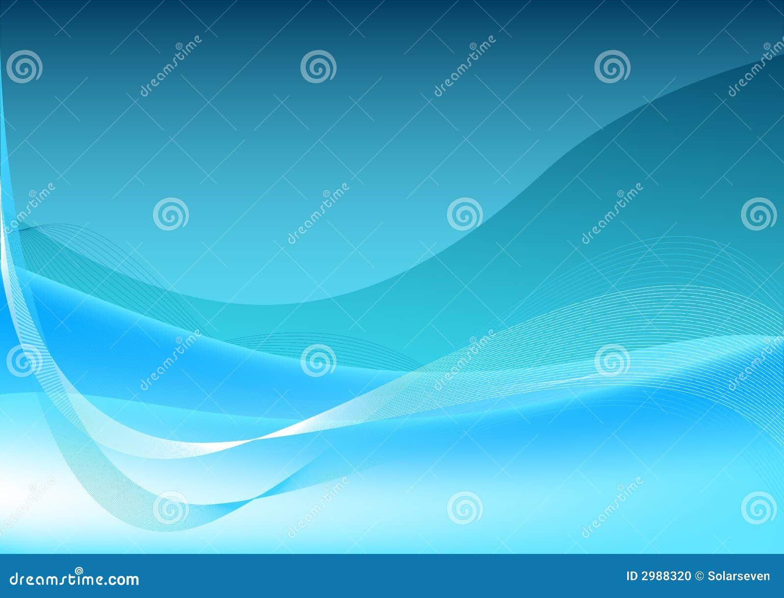 μπλε διανυσματικά κύματα