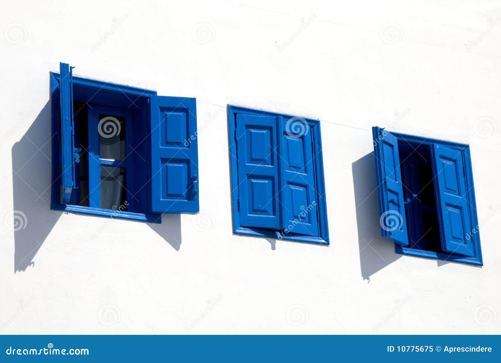 μπλε ελληνικά Windows