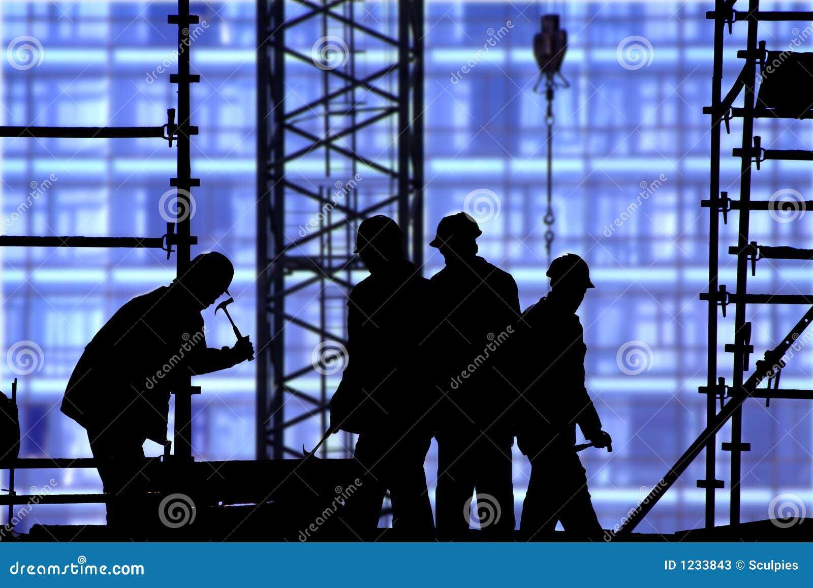 μπλε εργοτάξιο οικοδο&