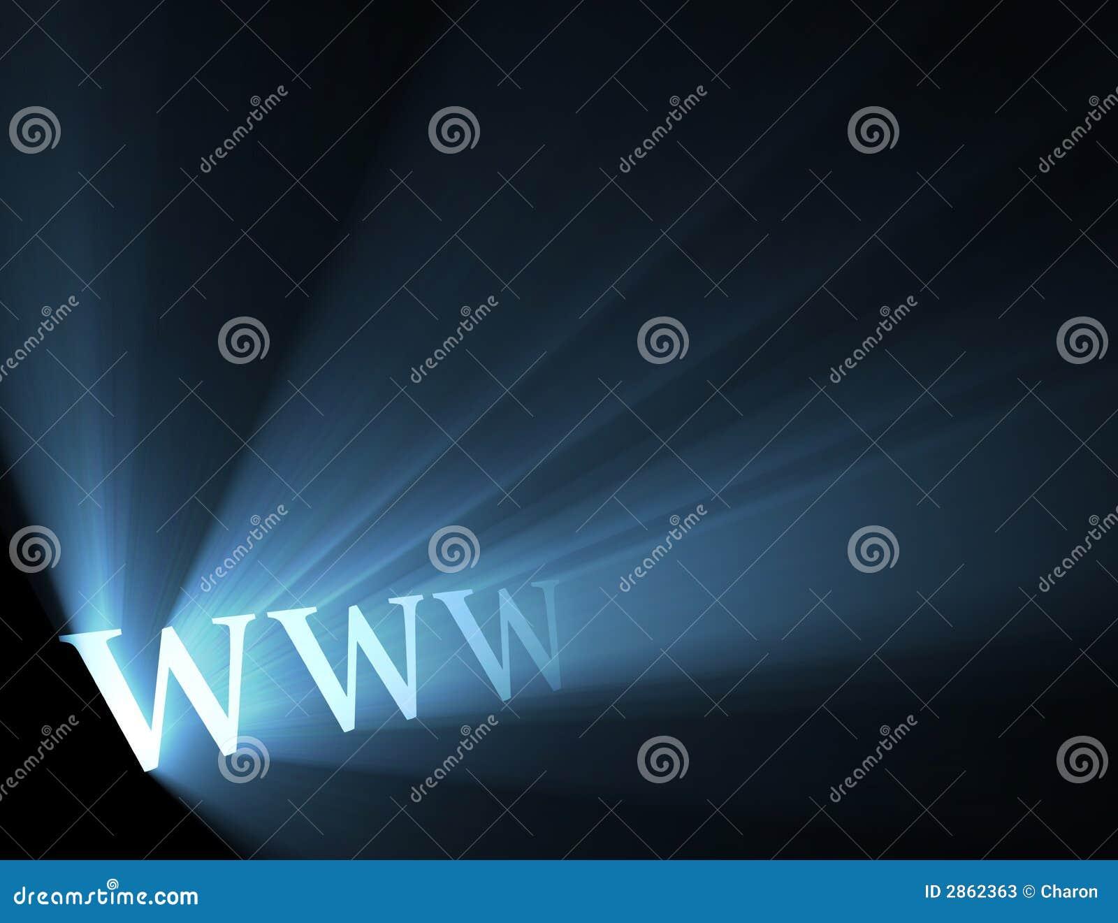 μπλε ευρύς κόσμος Ιστού φλογών ελαφρύς www