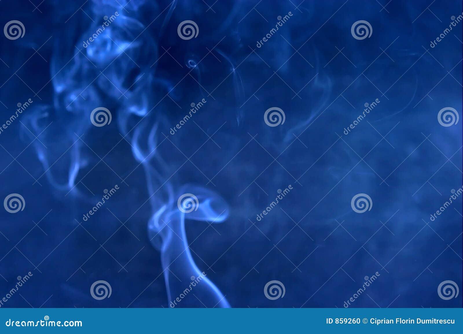μπλε καπνός θαμπάδων