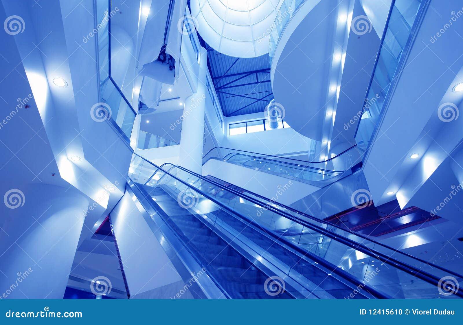 μπλε κενές εσωτερικές α&g