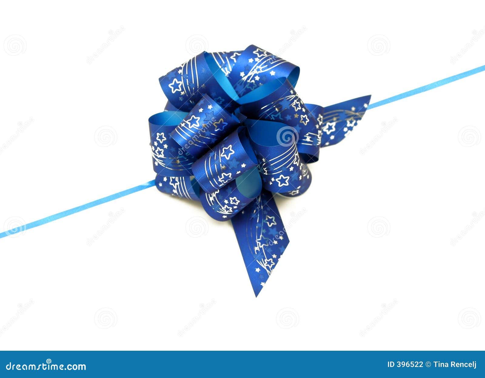 μπλε κορδέλλα