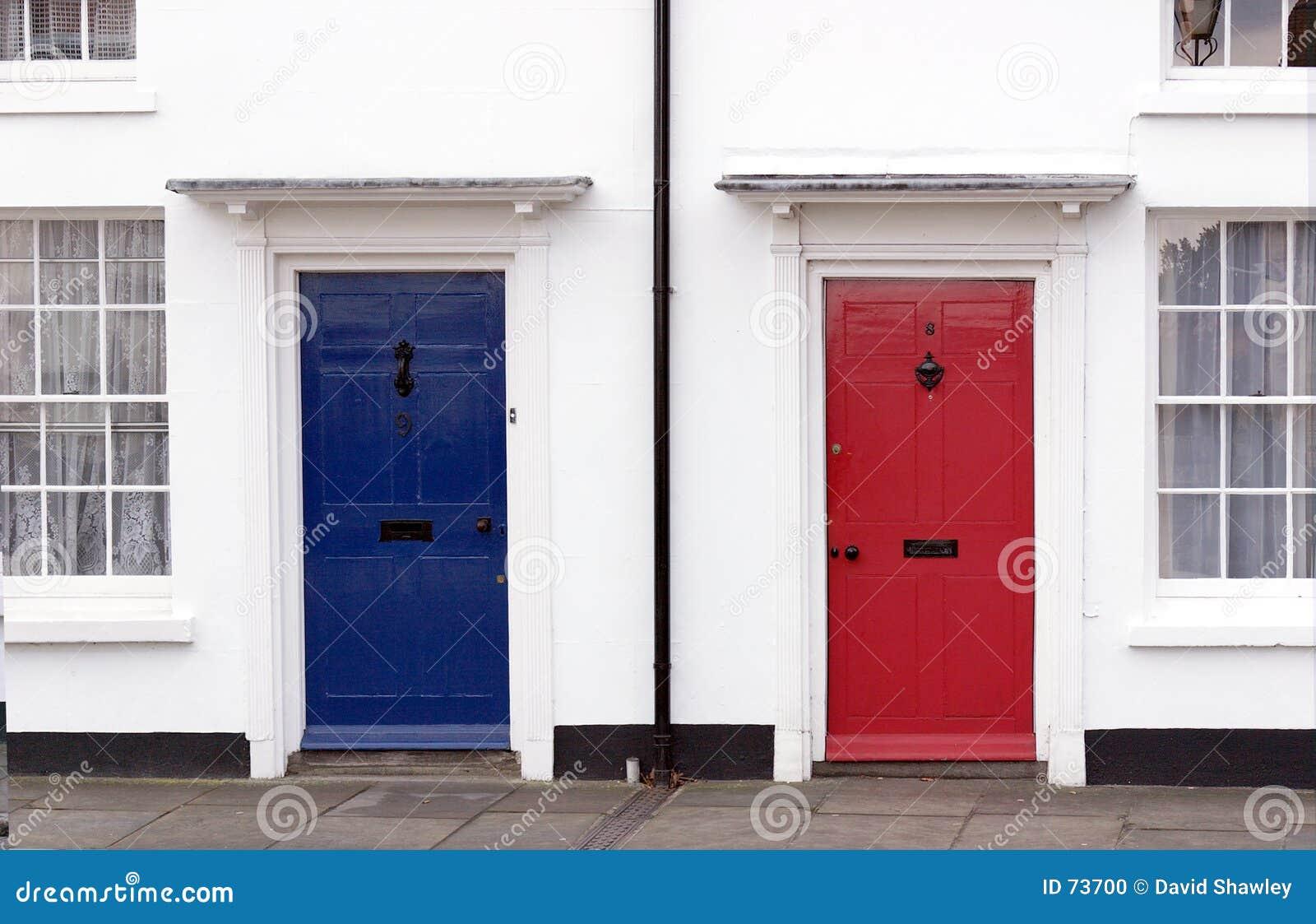 μπλε κόκκινο λευκό