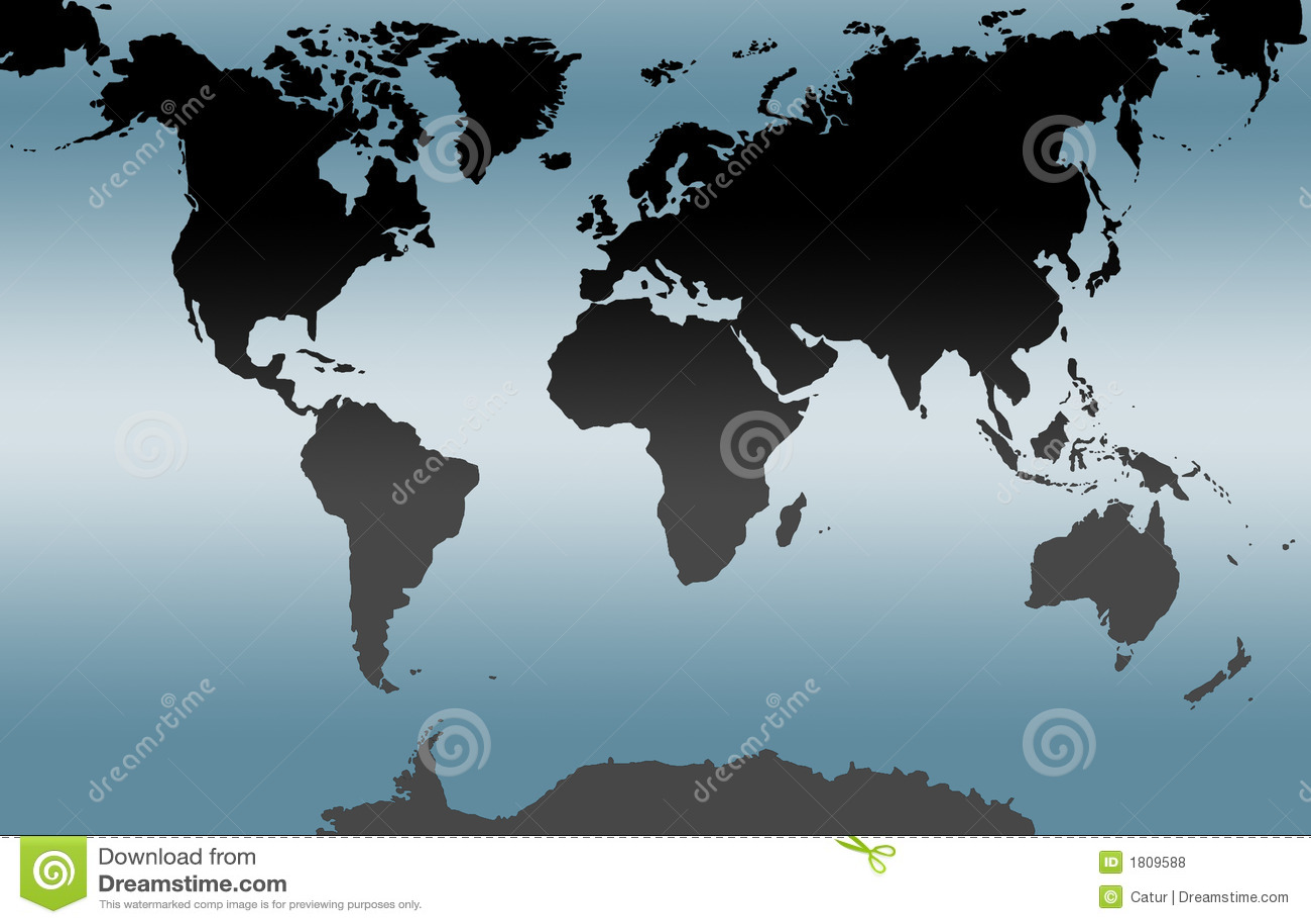μπλε κόσμος χαρτών