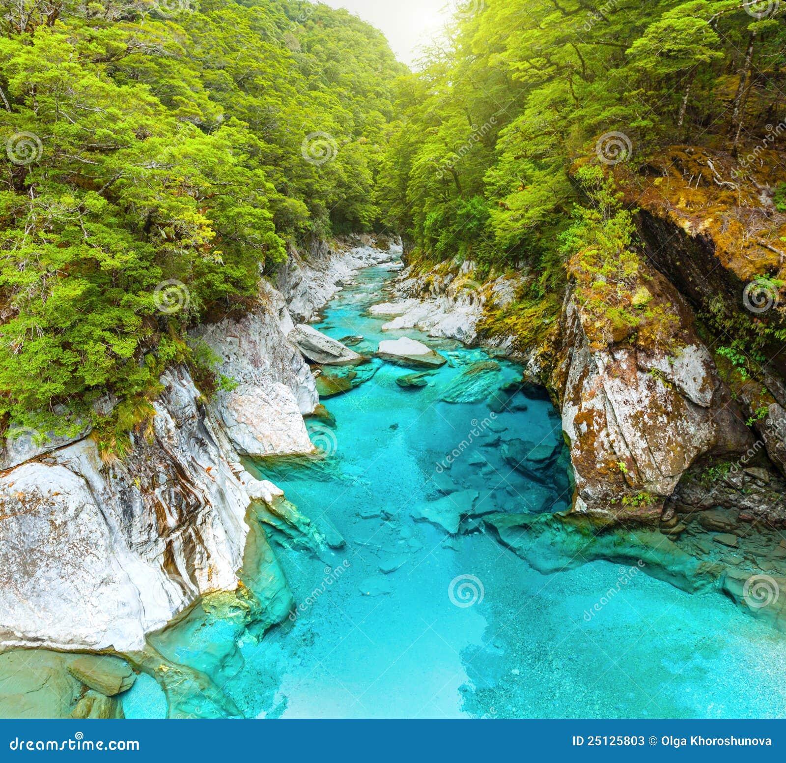 μπλε λίμνες