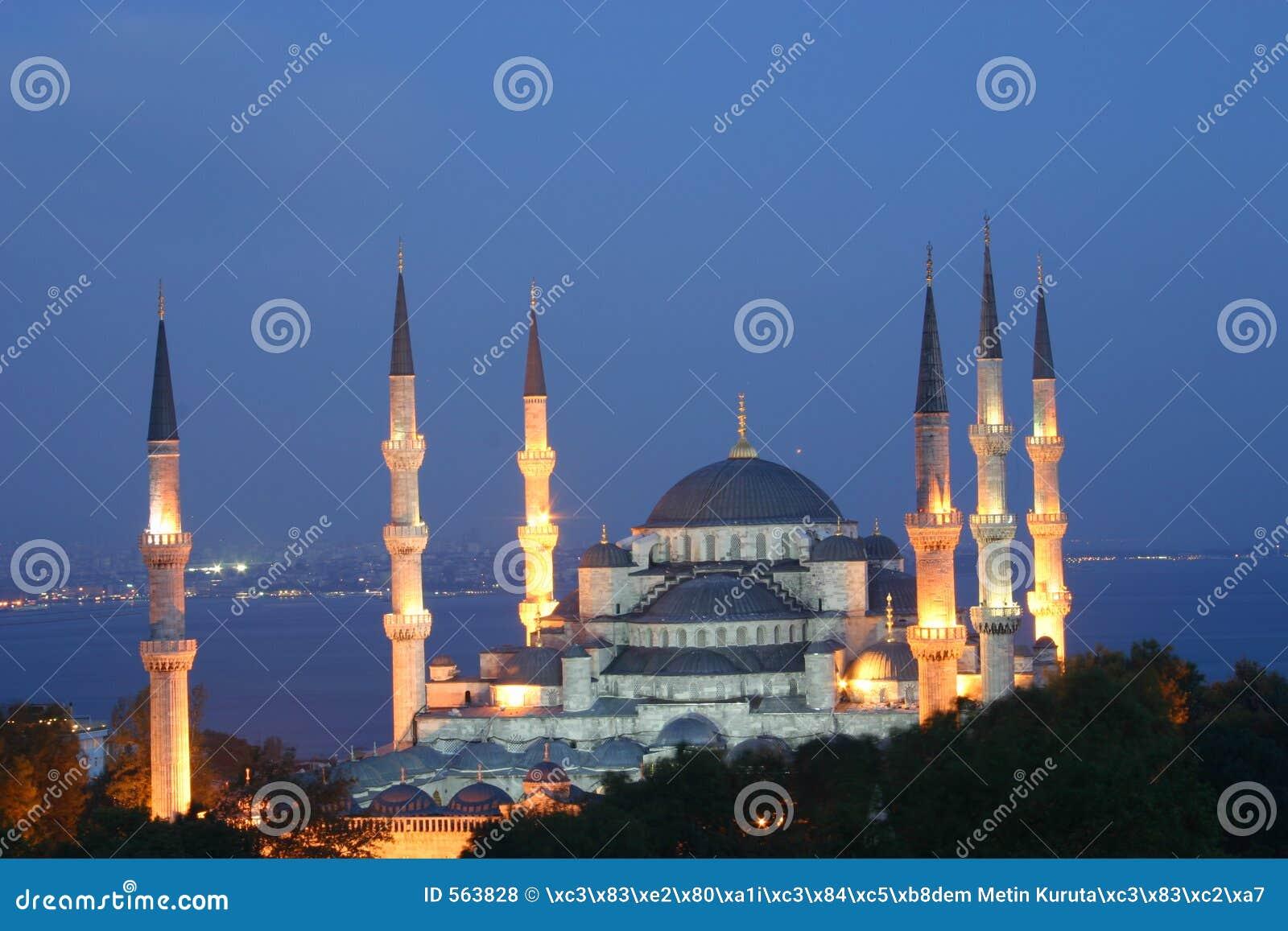 μπλε μουσουλμανικό τέμενος