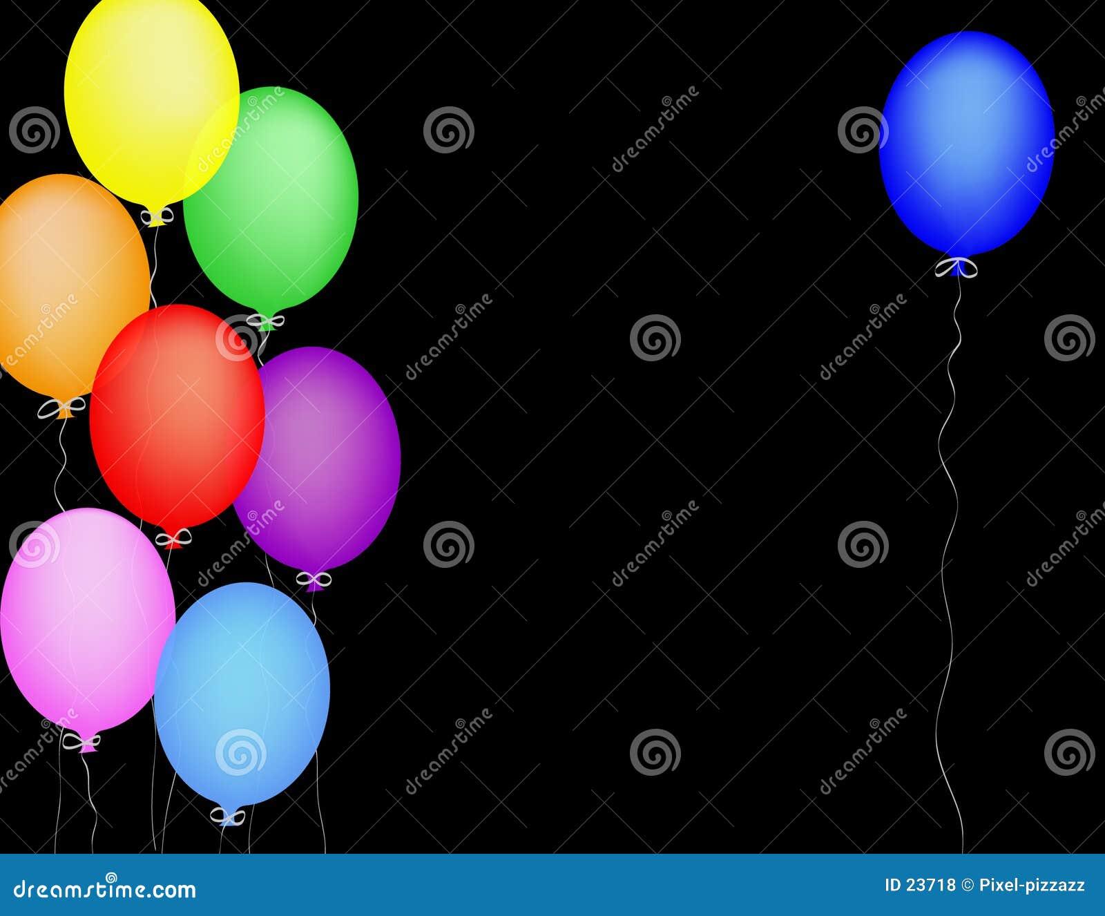 μπλε μπαλονιών