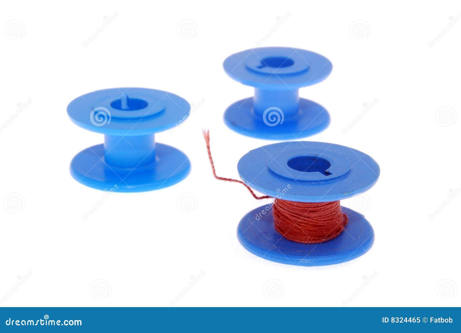 μπλε νήμα στροφίων