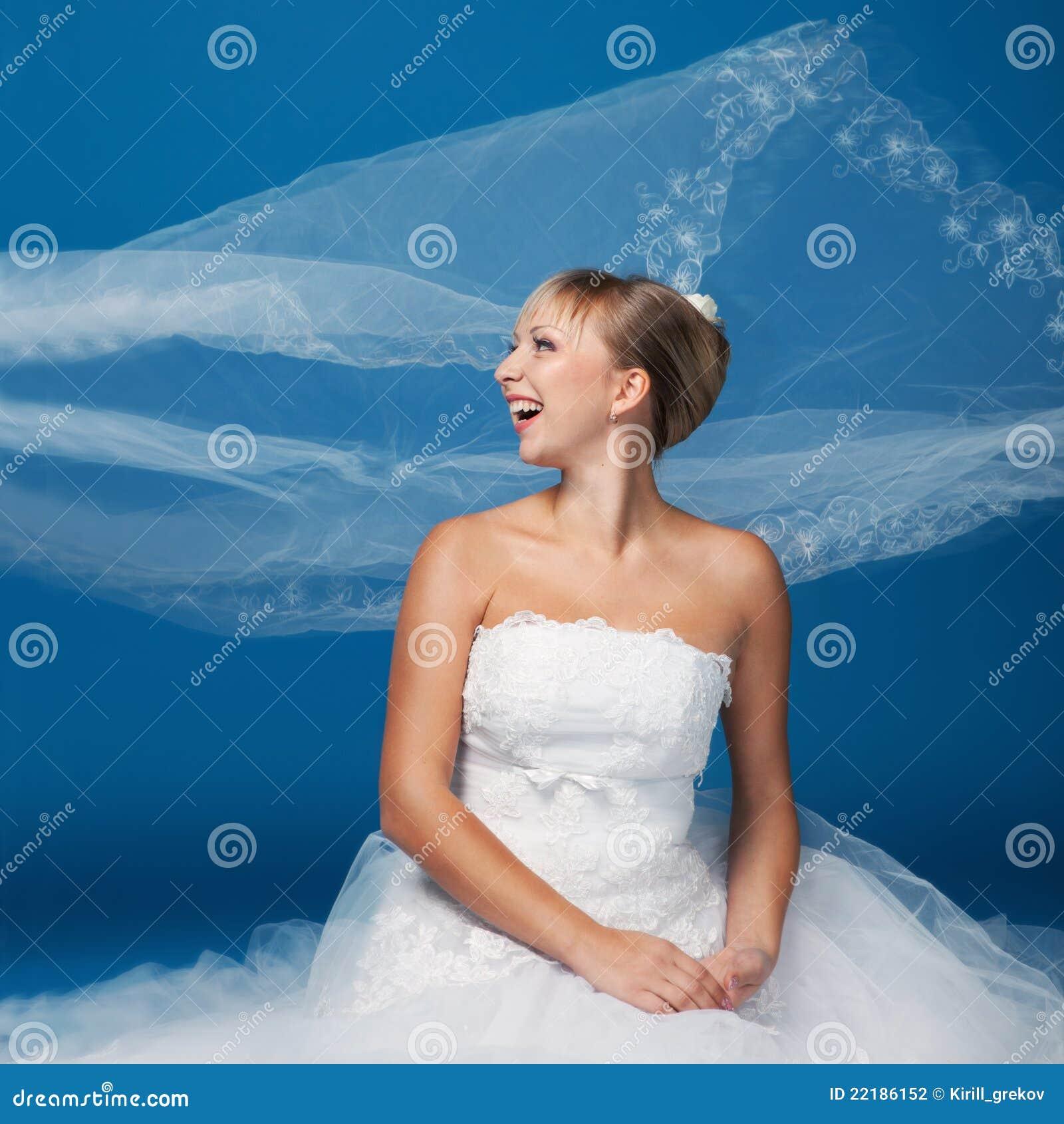 μπλε νύφη