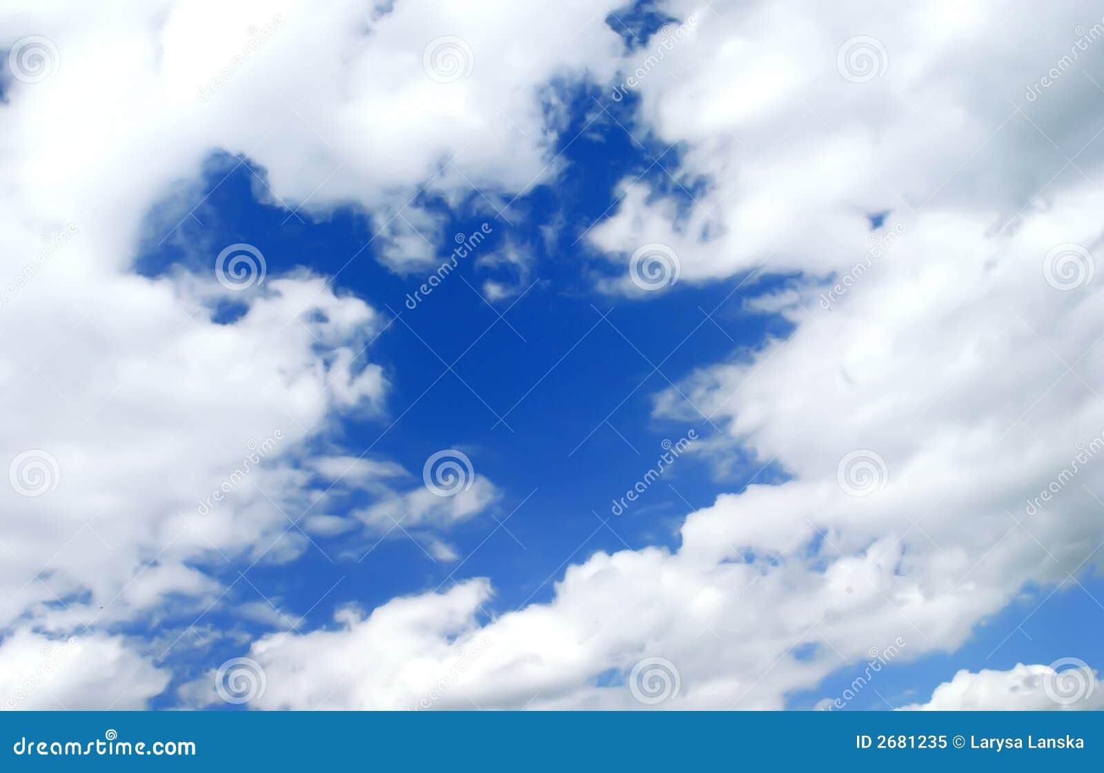 μπλε ουρανός romantice σύννεφων