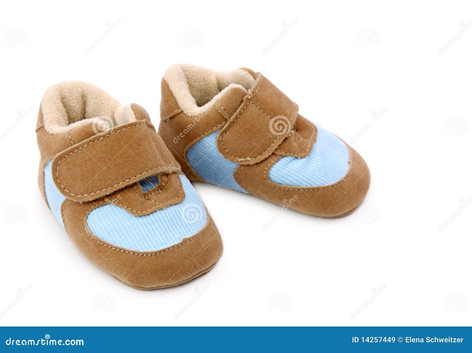 μπλε παπούτσια μωρών