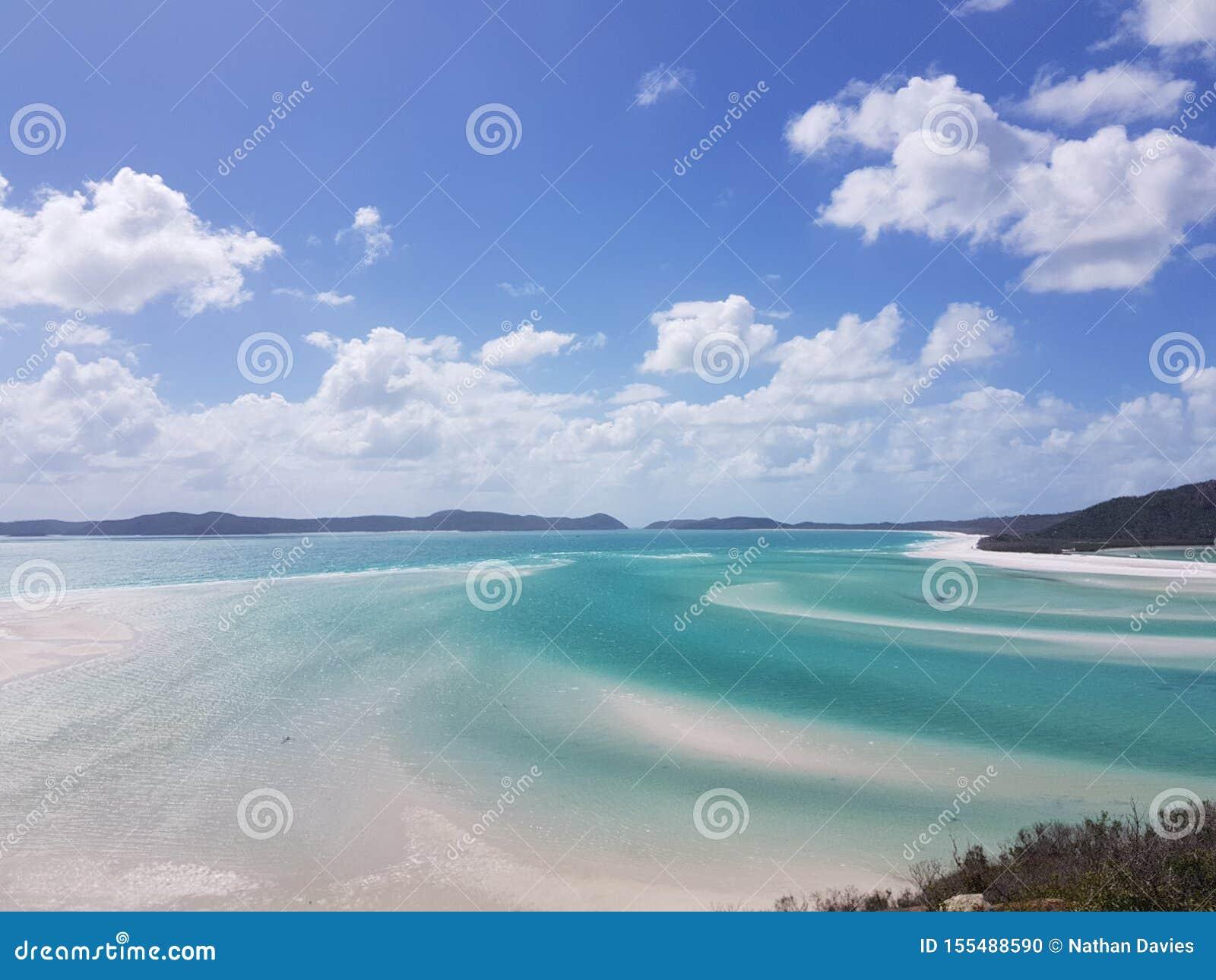 Μπλε παραλία whitsundays