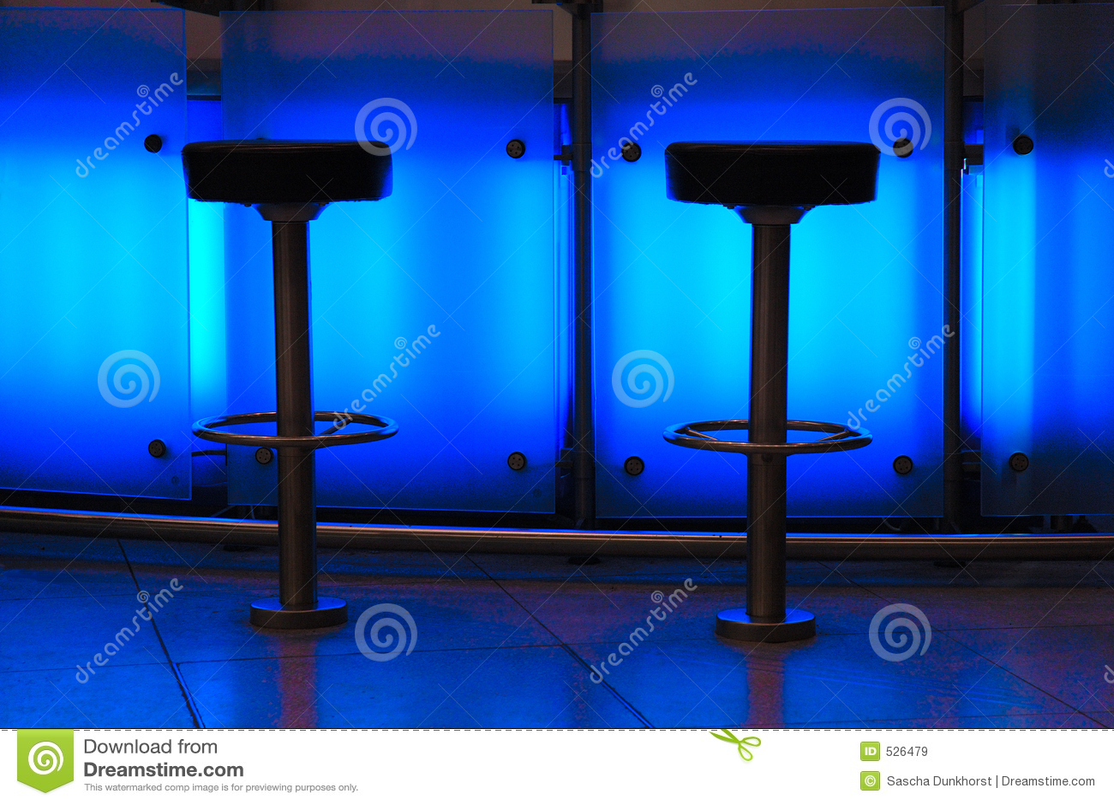 μπλε ράβδων