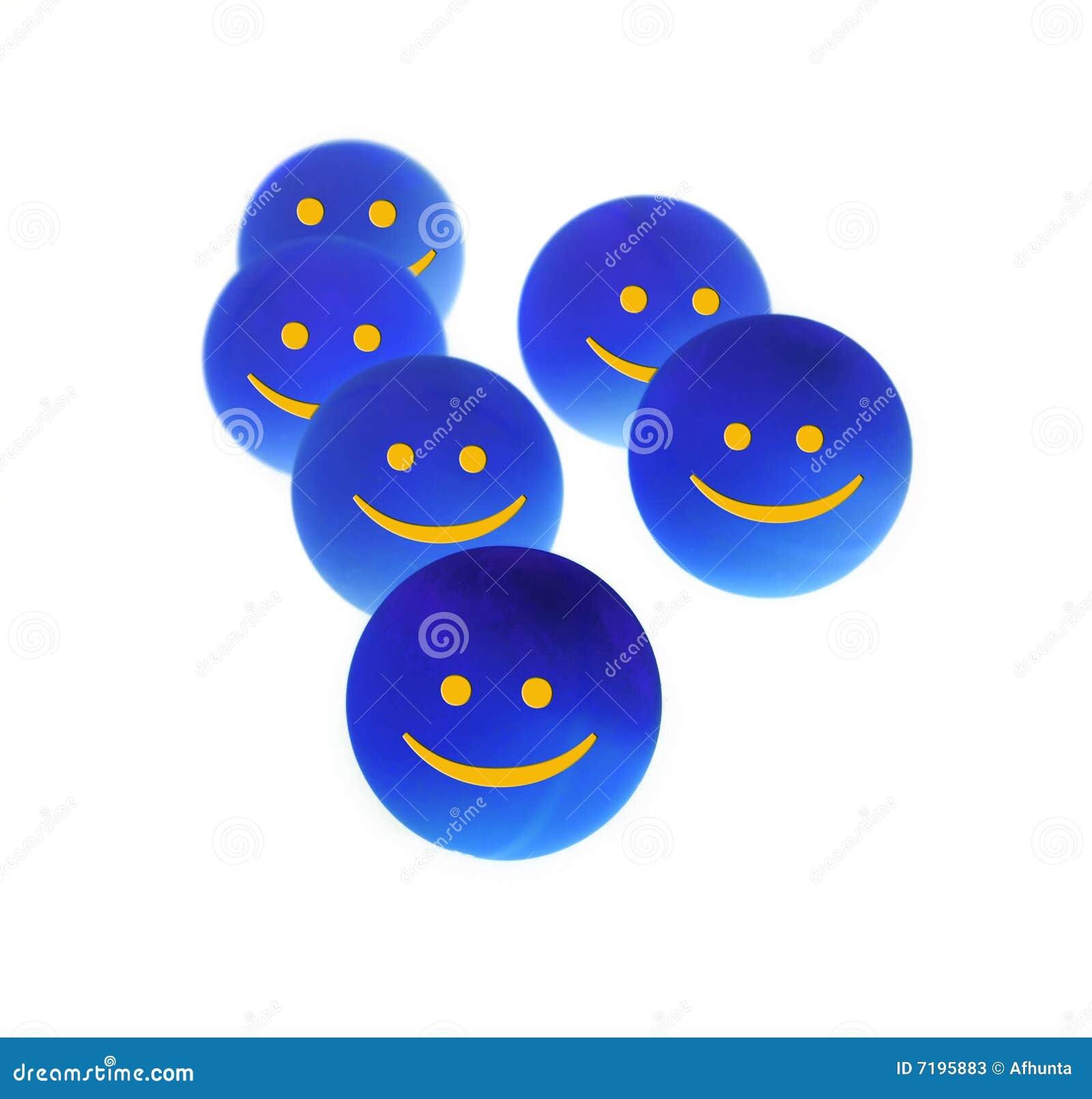 μπλε σκοτεινές σφαίρες