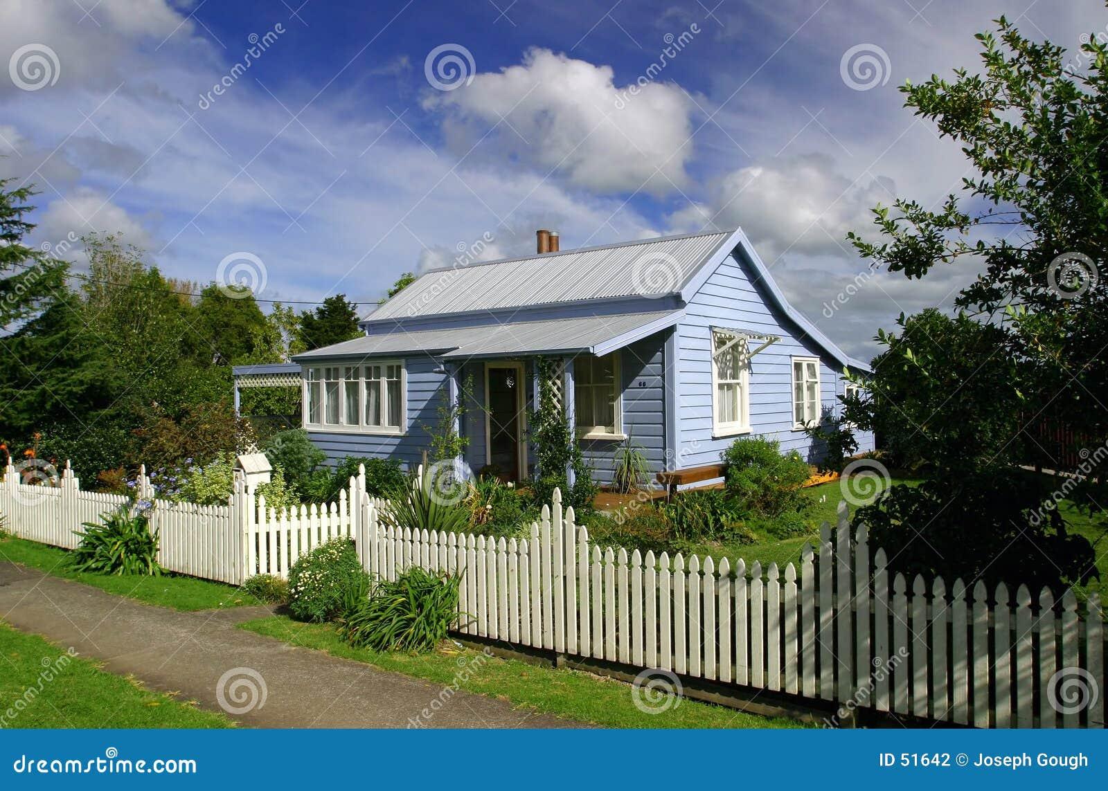 μπλε σπίτι