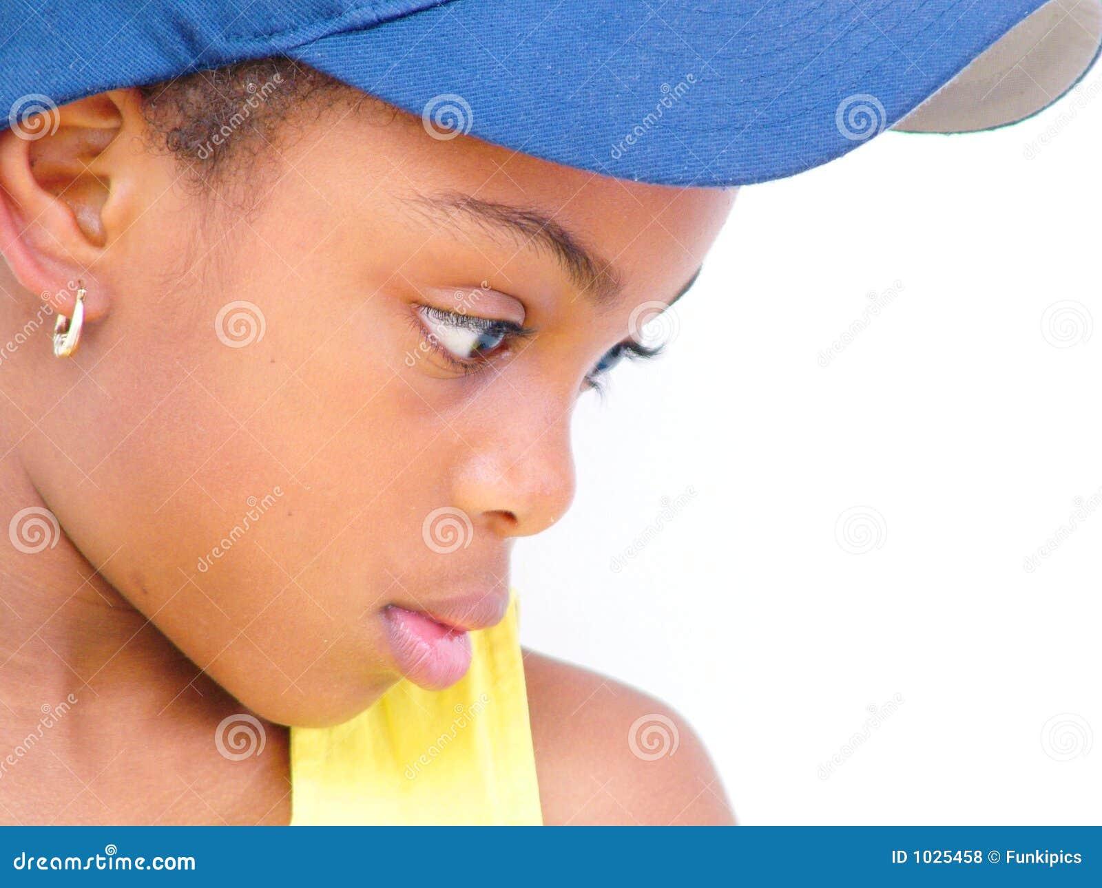 μπλε σχεδιάγραμμα καπέλων κοριτσιών