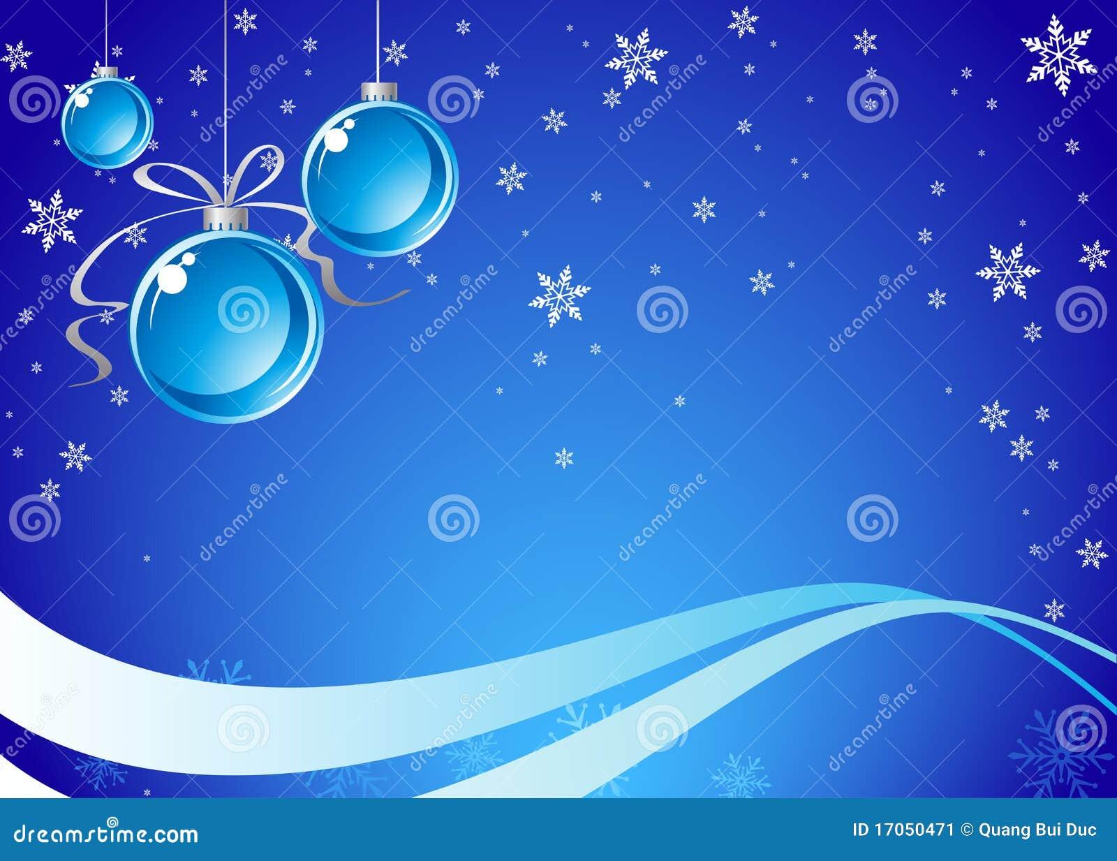 μπλε Χριστούγεννα ανασκό&