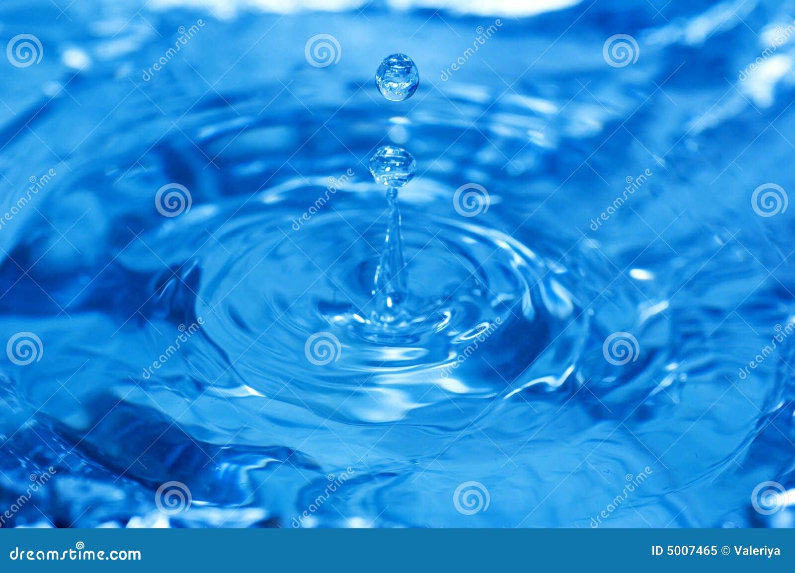 μπλε ύδωρ παφλασμών