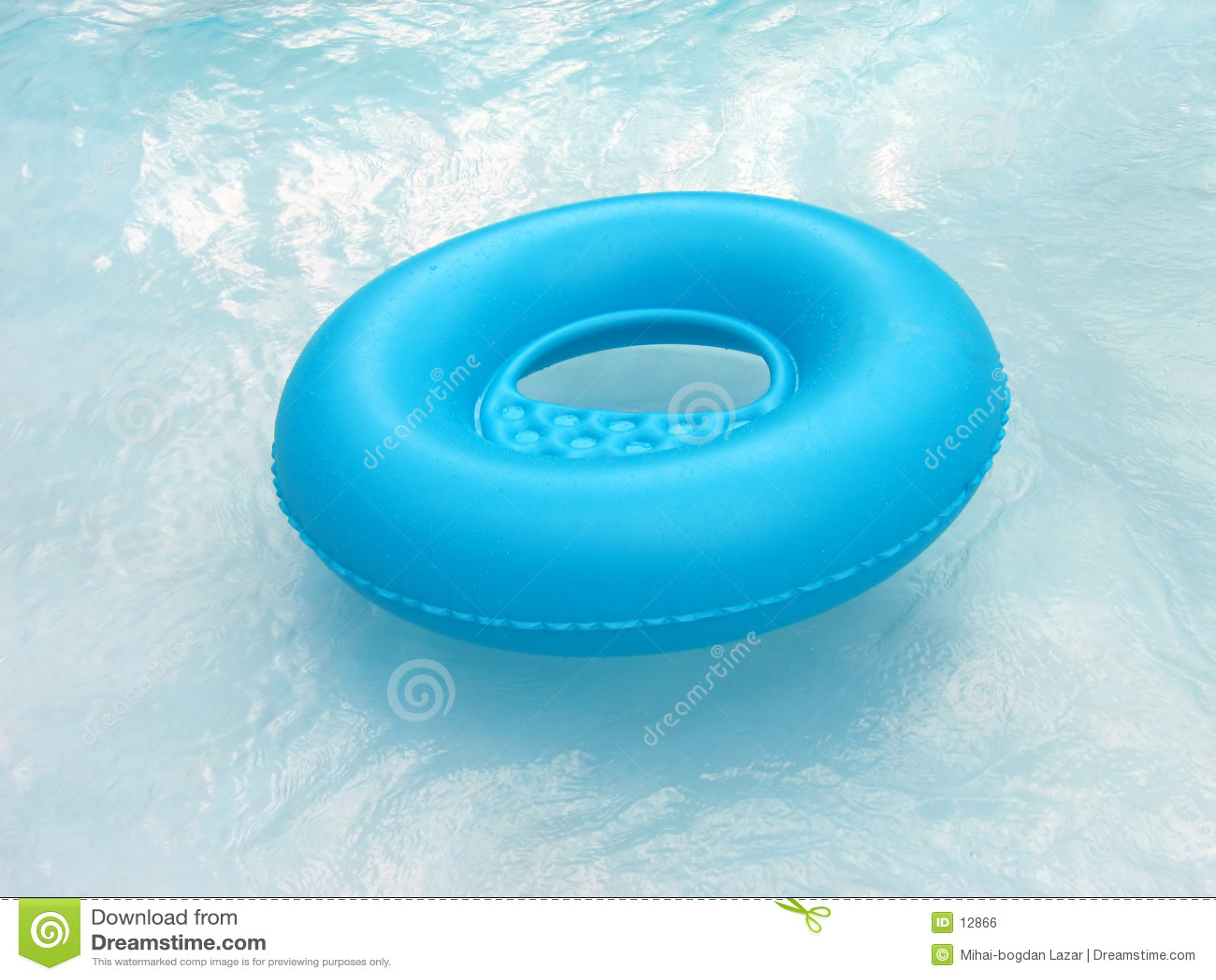 μπλε lifebuoy λίμνη