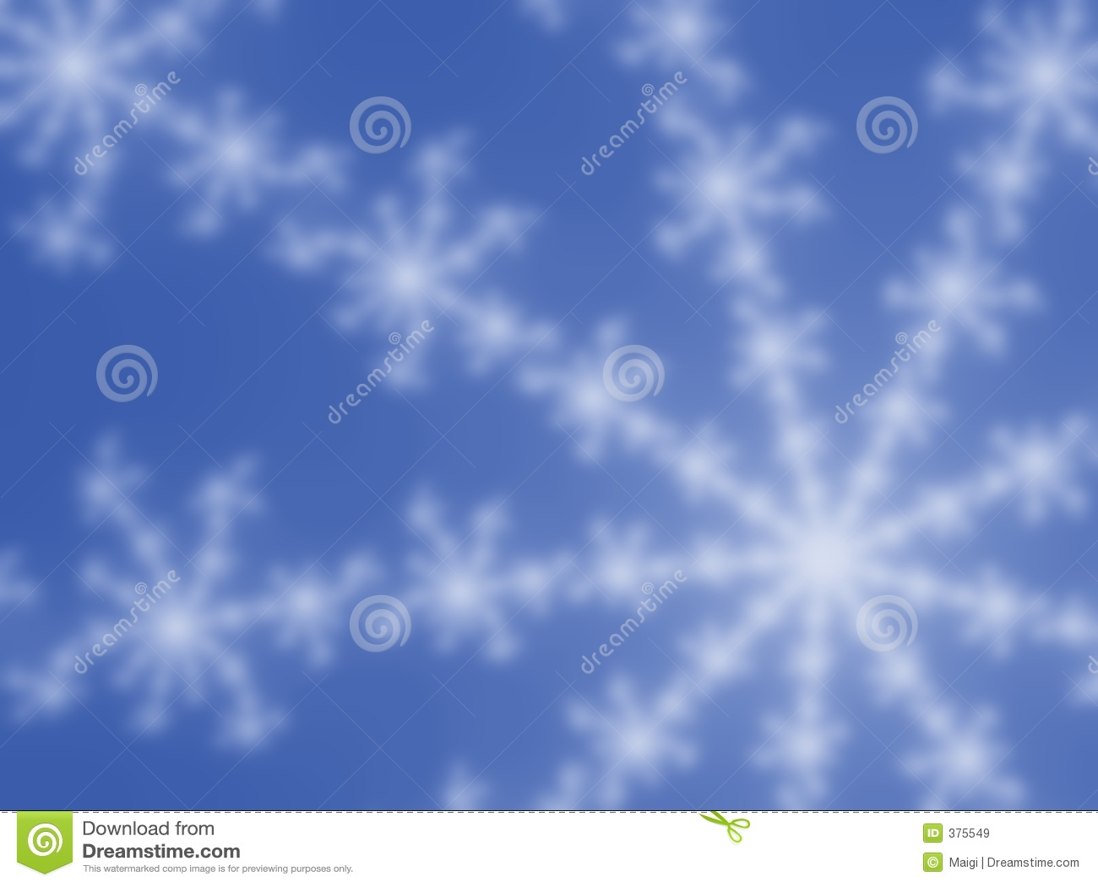 μπλε snowflake ανασκόπησης