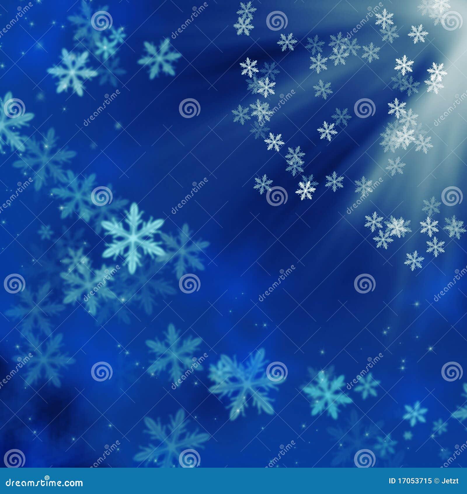 μπλε snowflakes Χριστουγέννων ανα&