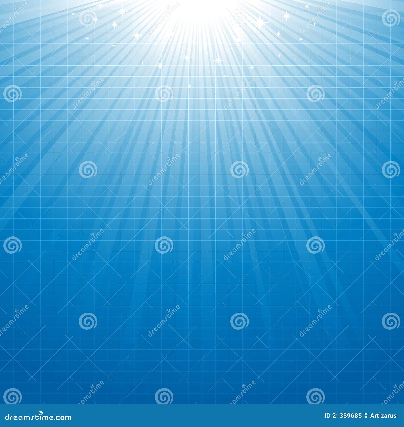 μπλε starburst ανασκόπησης