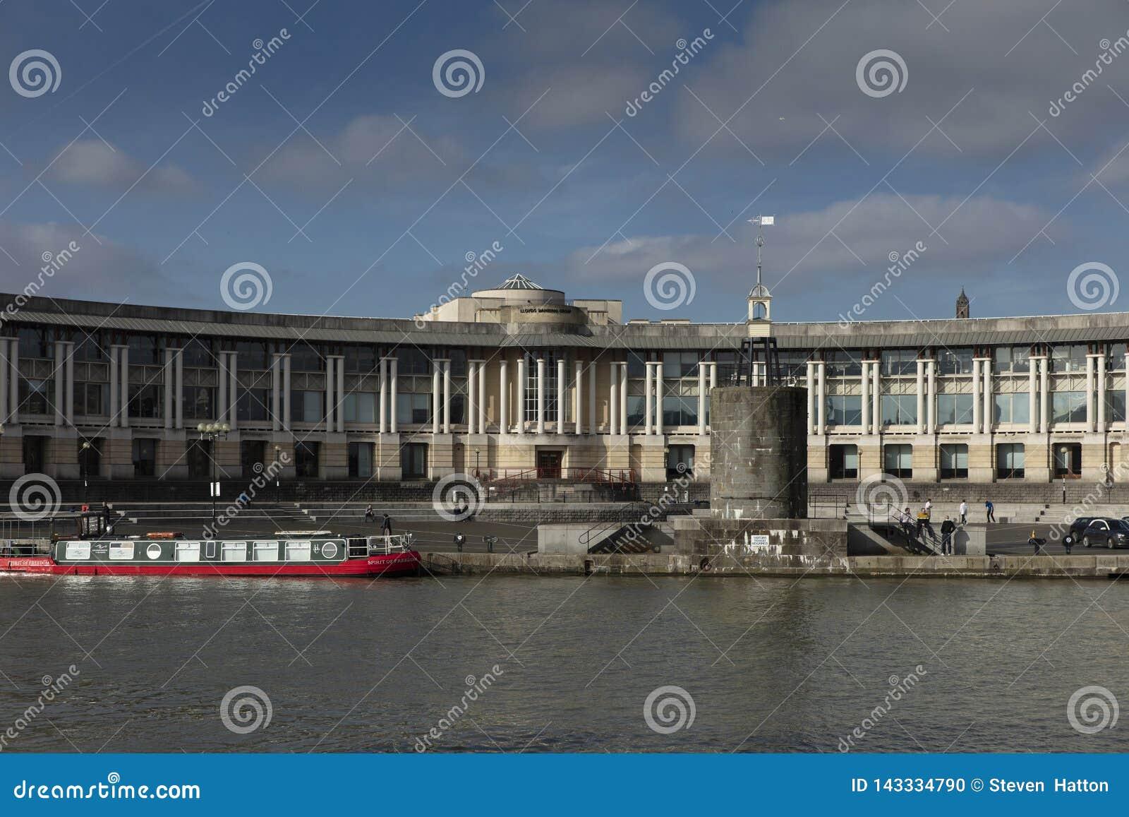 Μπρίστολ, Ηνωμένο Βασίλειο, στις 21 Φεβρουαρίου 2019, έδρα τράπεζας Lloyds που ενσωματώνει το κεντρικό Μπρίστολ