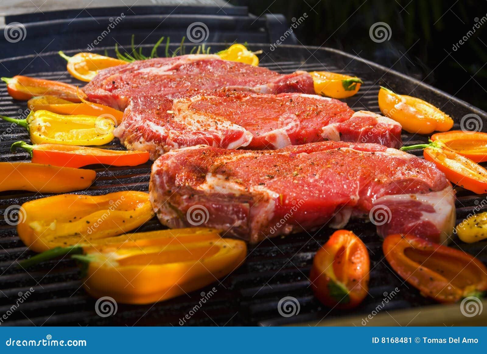 μπριζόλες σχαρών μαγείρων rib