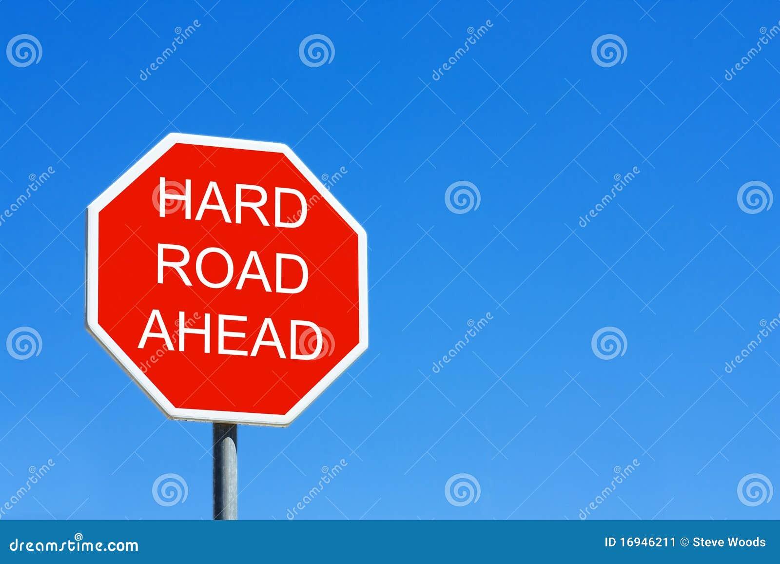 μπροστά σκληρός δρόμος
