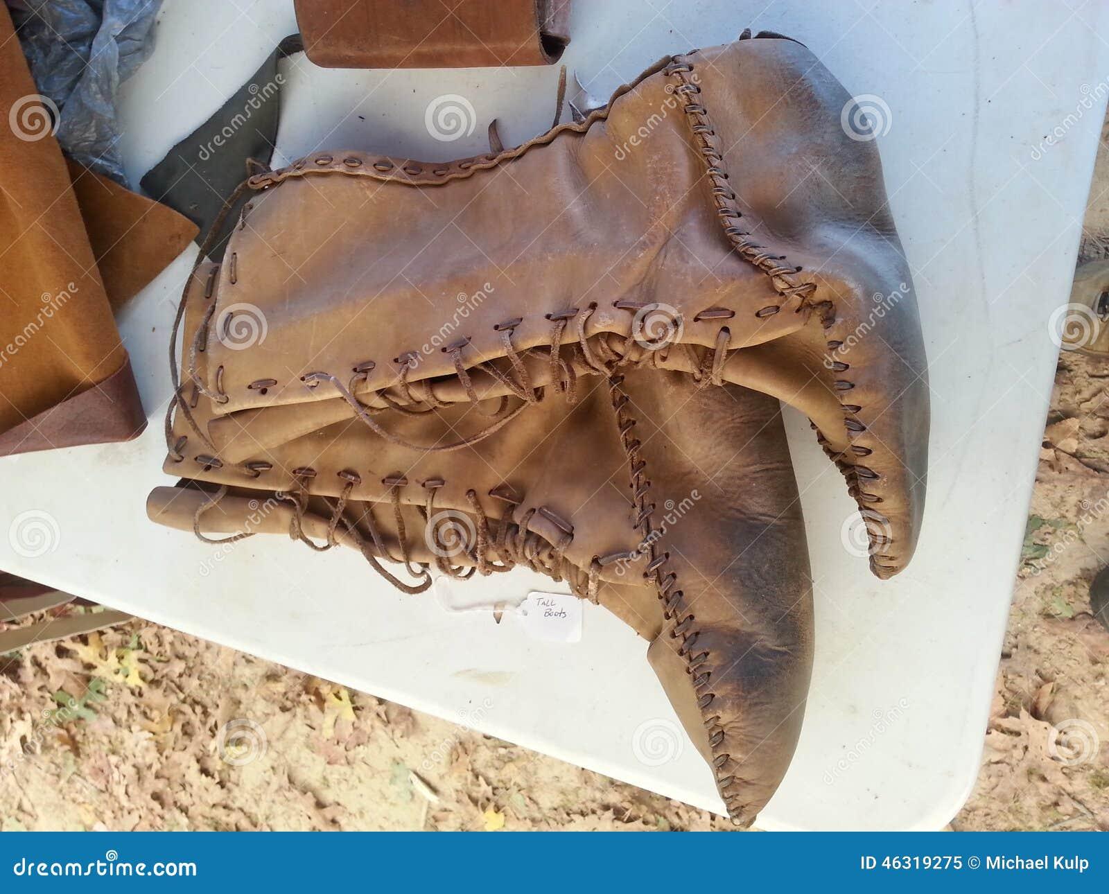 Μπότες δέρματος αμερικανών ιθαγενών