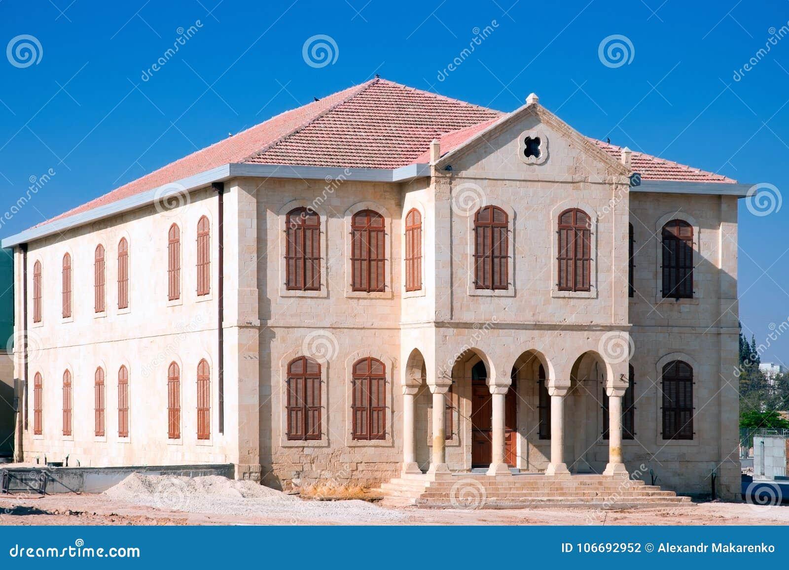 ΜΠΎΡΑ-SHEVA, ΙΣΡΑΉΛ 17 ΣΕΠΤΕΜΒΡΊΟΥ 2012: Η οικοδόμηση του παλαιού