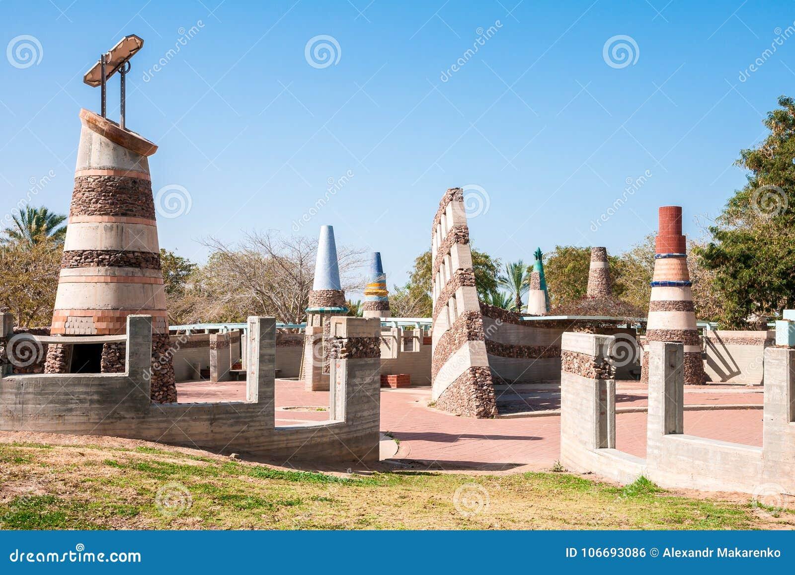 ΜΠΎΡΑ-SHEVA, ΙΣΡΑΉΛ 22 ΦΕΒΡΟΥΑΡΊΟΥ 2014: Αρχιτεκτονικό σύνθετο Sev