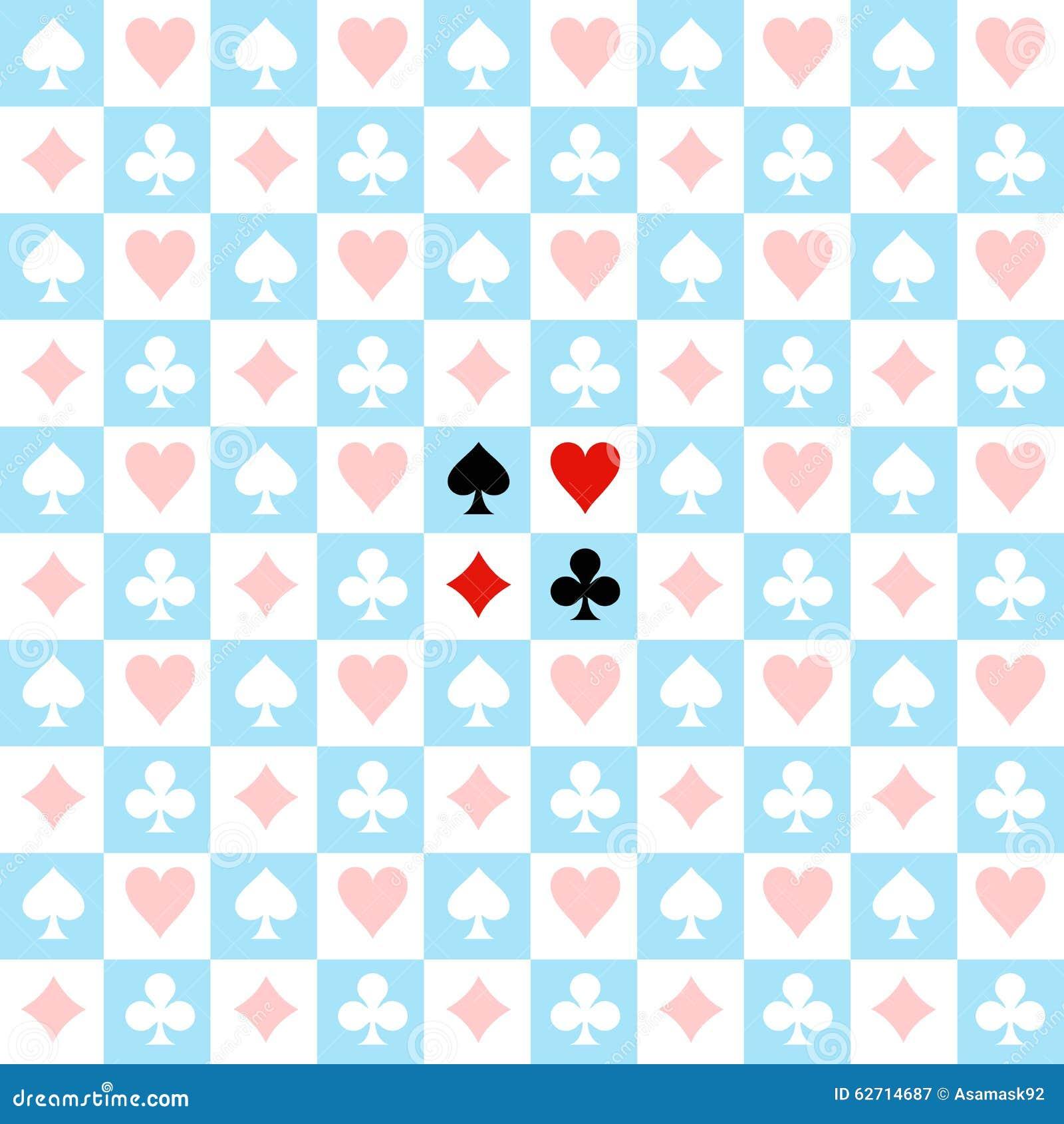 Μπλε άσπρο υπόβαθρο πινάκων σκακιού κοστουμιών καρτών