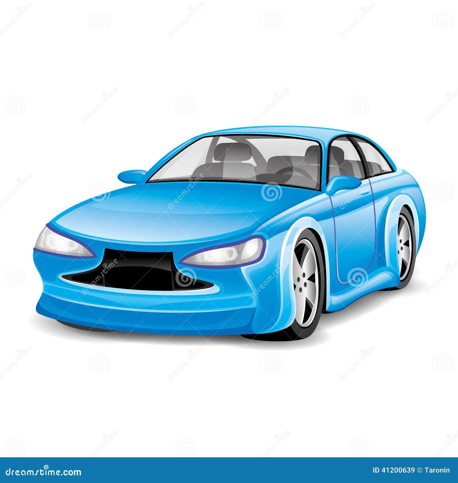 μπλε αυτοκίνητο