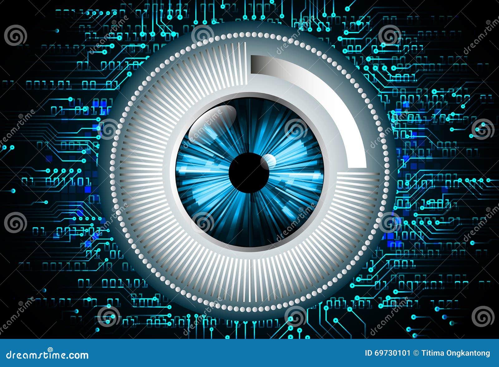 Μπλε αφηρημένη γεια απεικόνιση υποβάθρου τεχνολογίας Διαδικτύου ταχύτητας