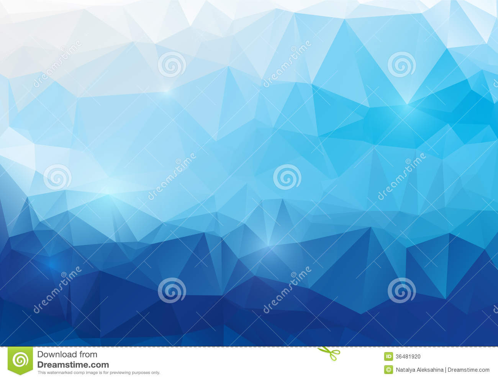 Μπλε αφηρημένο polygonal υπόβαθρο