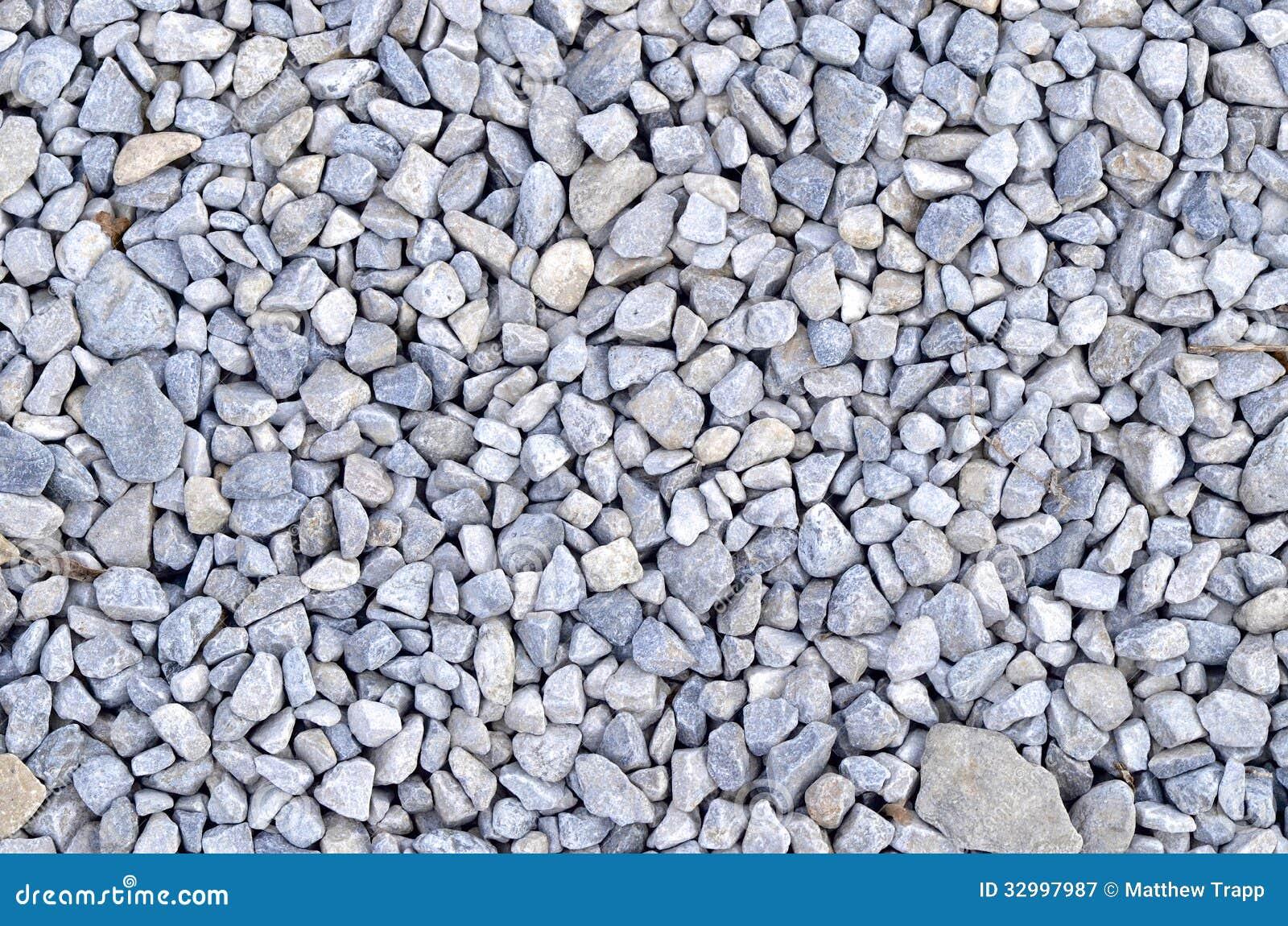 Μπλε βράχοι αμμοχάλικου