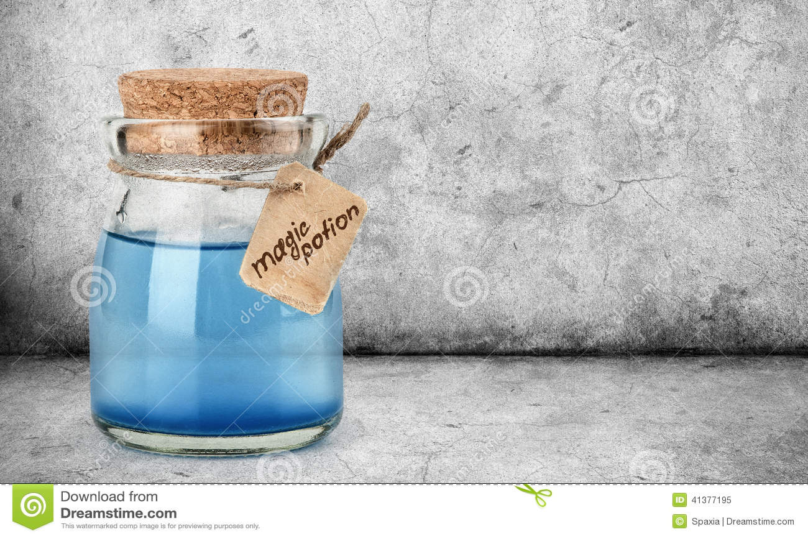 μπλε μαγική φίλτρο