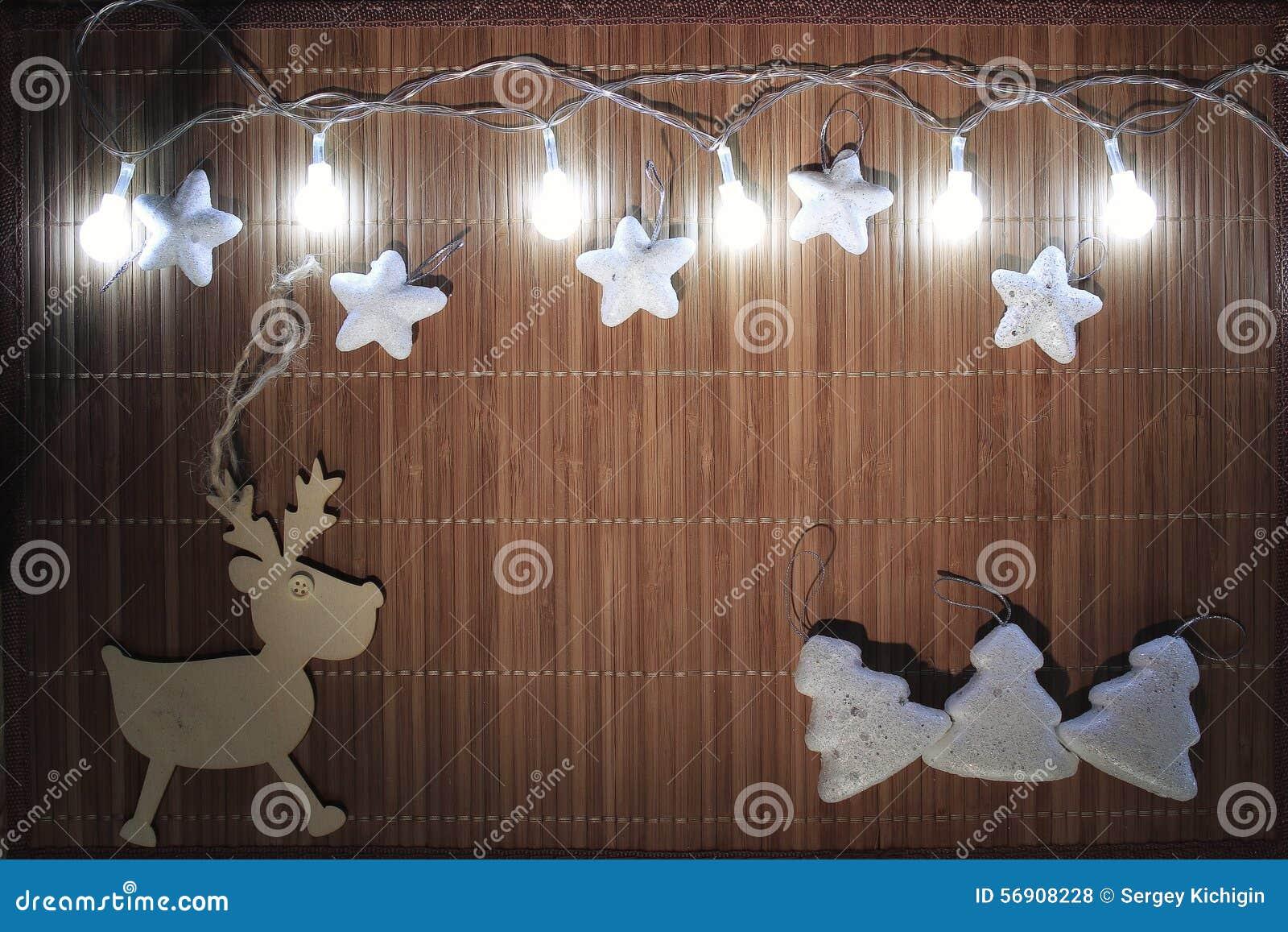 μπλε σκιά διακοσμήσεων απεικόνισης λουλουδιών Χριστουγέννων
