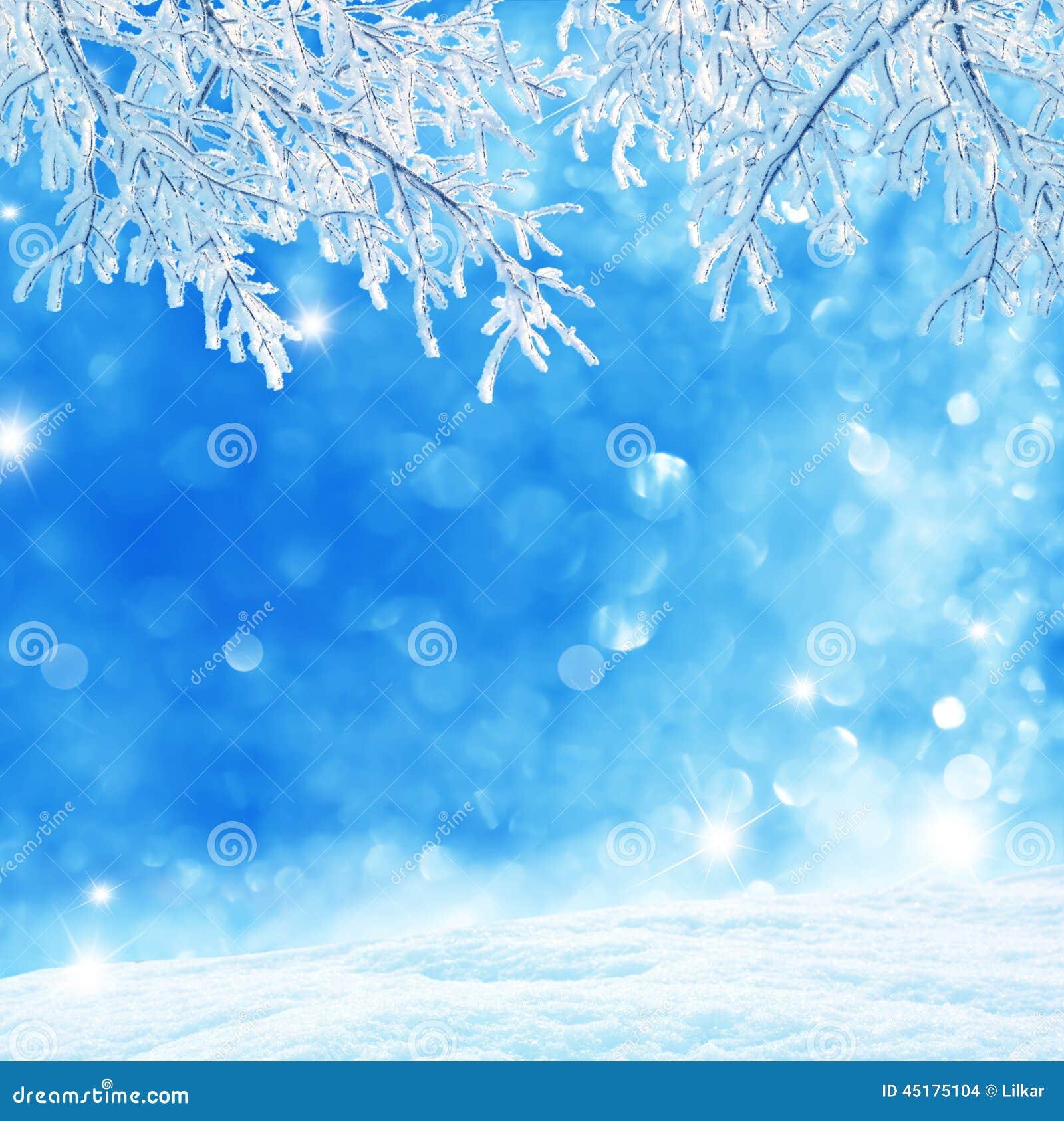 μπλε snowflakes ανασκόπησης άσπρος χειμώνας