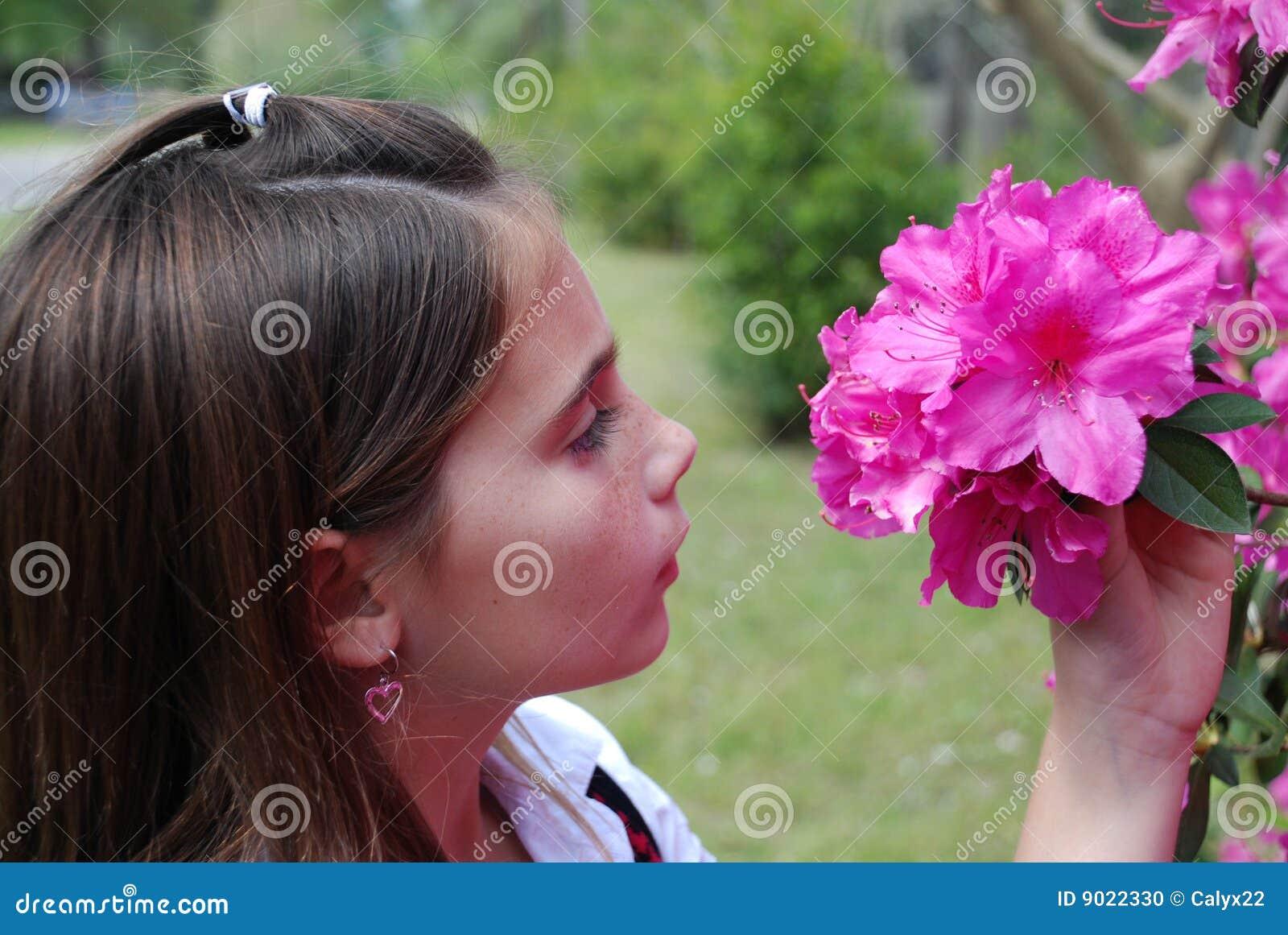 μυρωδιά λουλουδιών