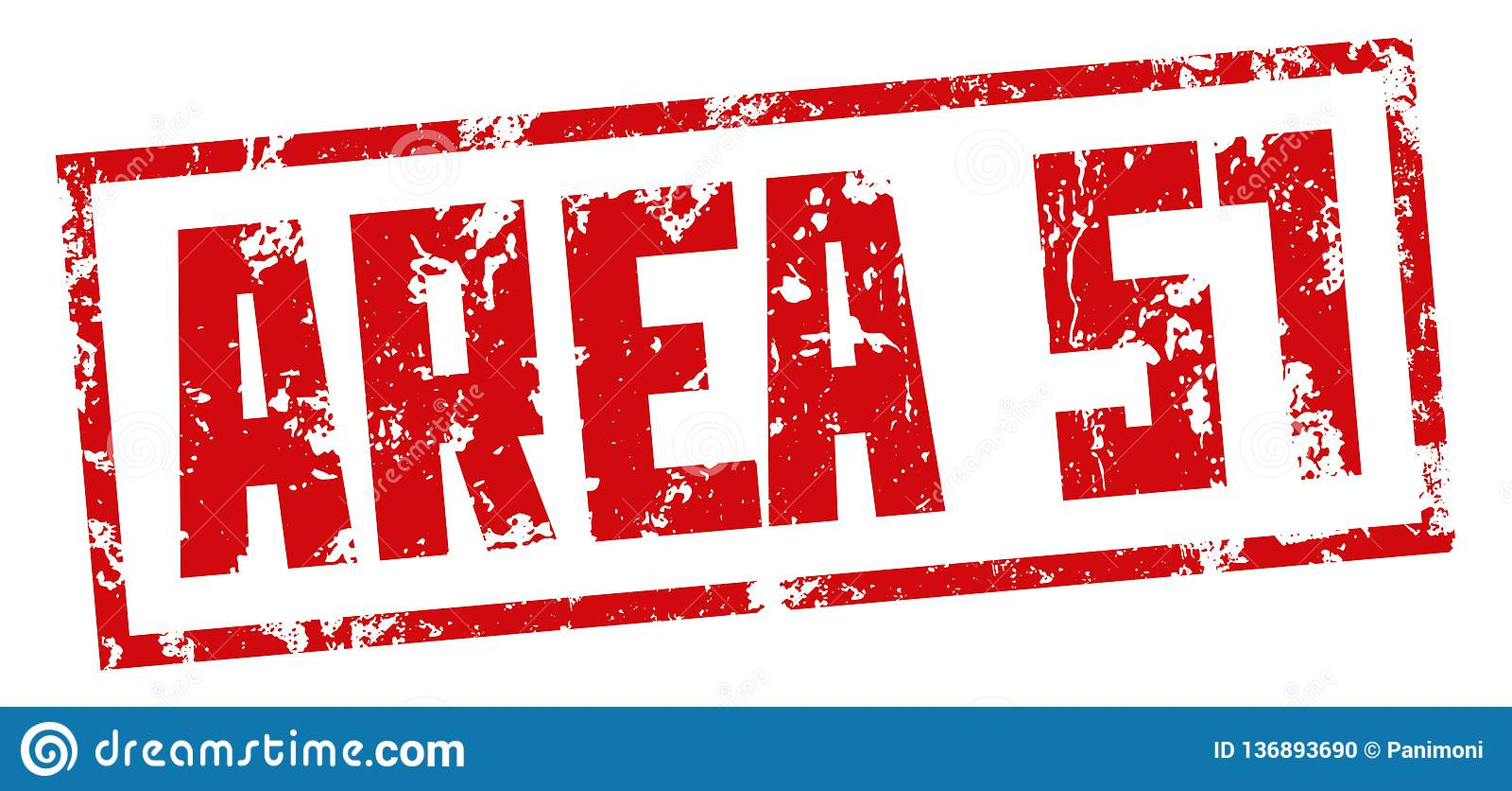 Μυστική βάση γραμματοσήμων ΠΕΡΙΟΧΗ 51 Κόκκινη τυπωμένη ύλη στο άσπρο υπόβαθρο eps σχεδίου 10 ανασκόπησης διάνυσμα τεχνολογίας
