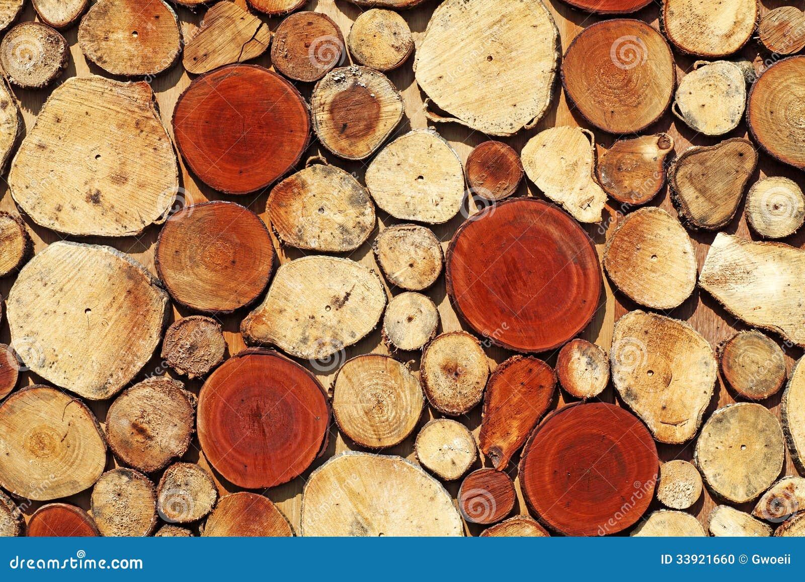 Μωσαϊκό κούτσουρων ξυλείας