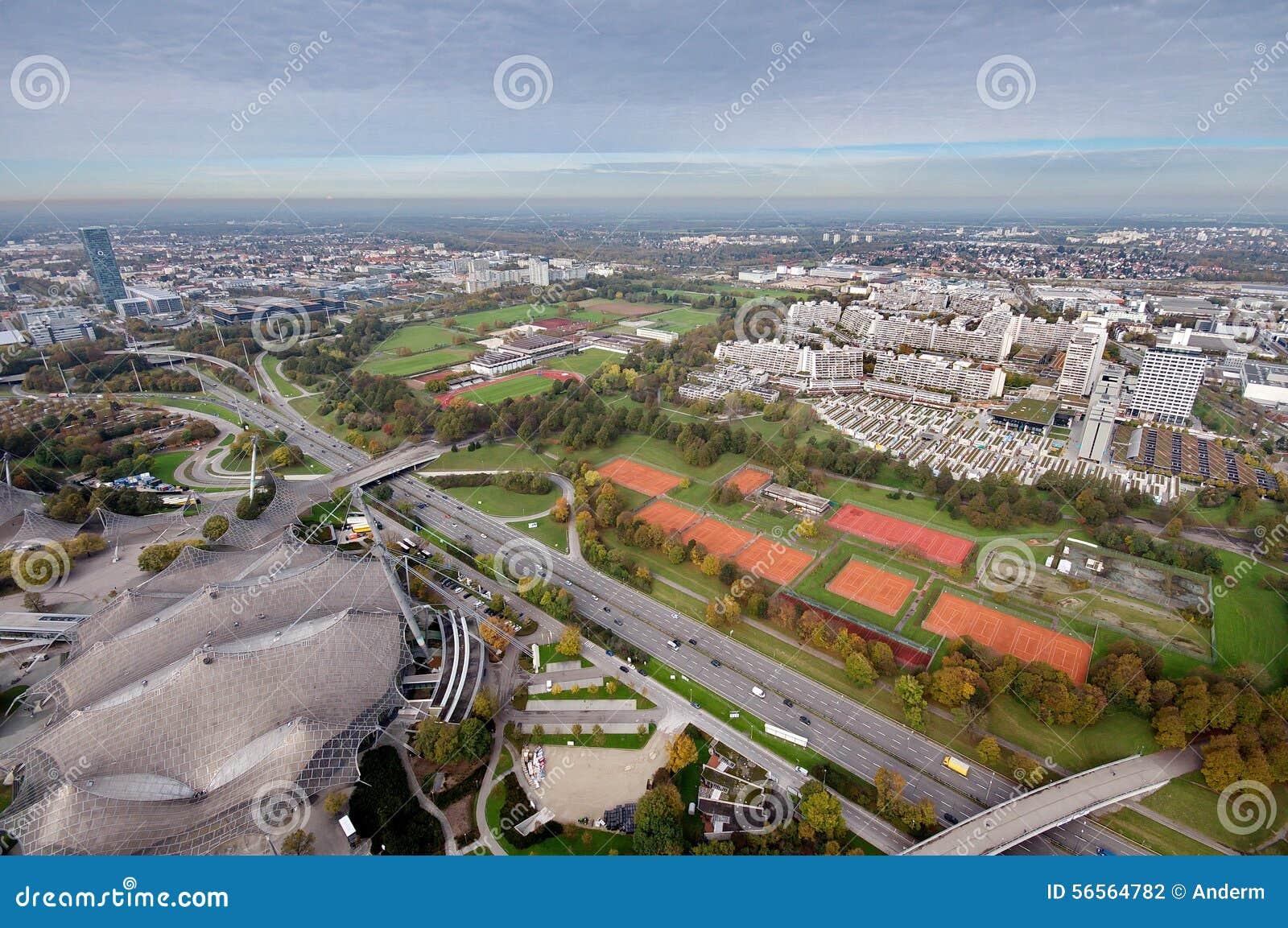 Download Μόναχο Olympiapark στοκ εικόνες. εικόνα από καλλιεργητικός - 56564782