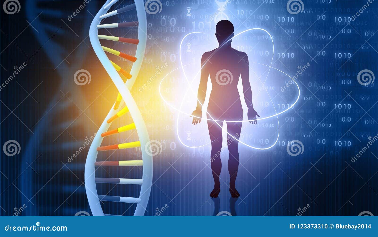 Μόρια και άτομα DNA