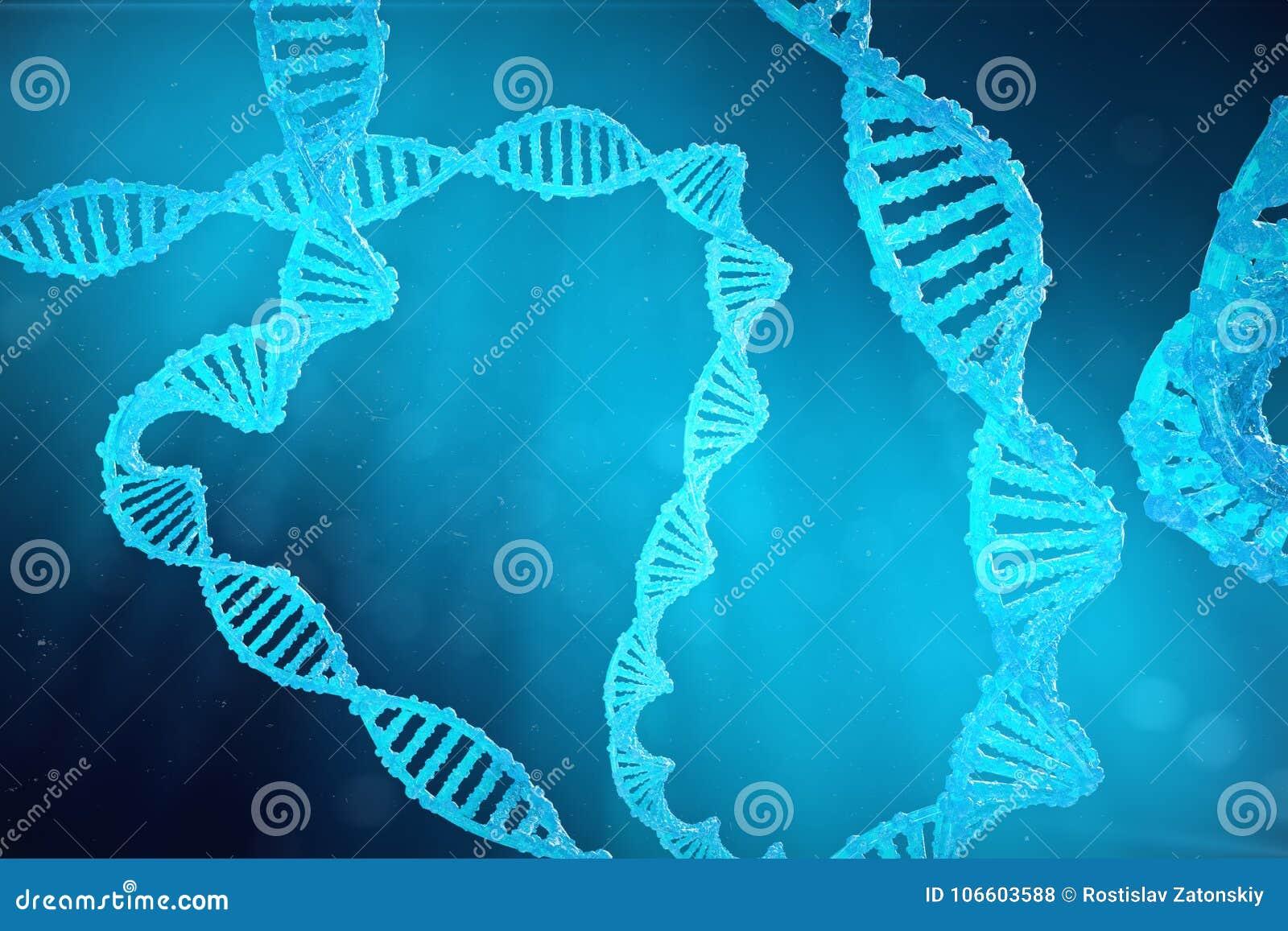 Μόριο DNA ελίκων με τα τροποποιημένα γονίδια Μεταλλαγή διόρθωσης από τη γενετική εφαρμοσμένη μηχανική Μοριακή γενετική έννοιας, τ